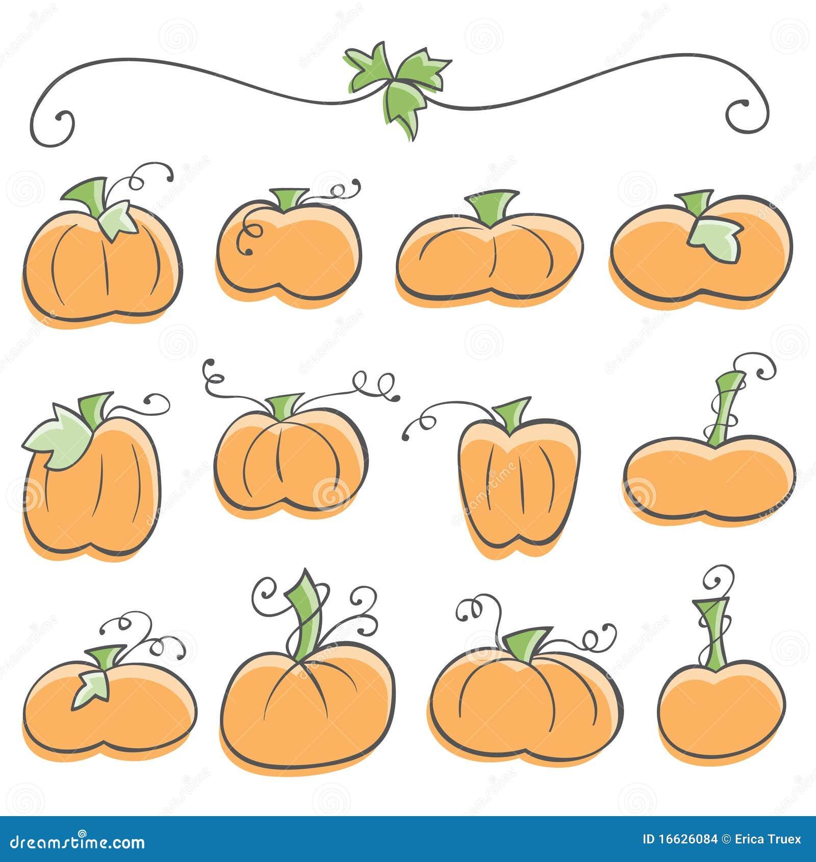 doodle pumpkin elements stock images image 16626084 japanese clip art images japanese clip art color book