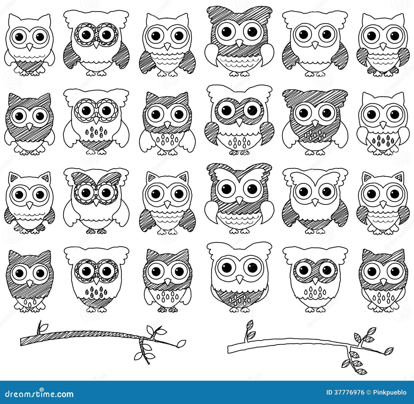 Cute Owl Eyes Drawing Viewing Gallery
