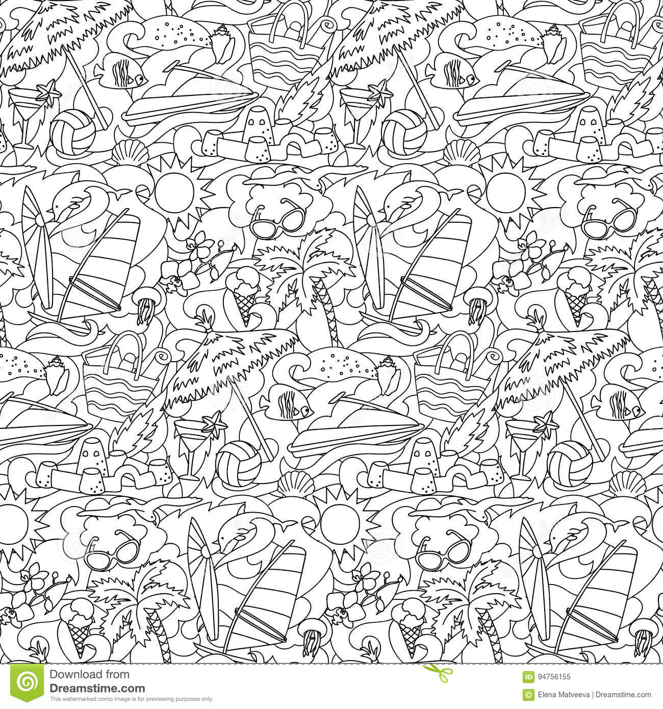 coloring pages free summer wallpaper - photo#6