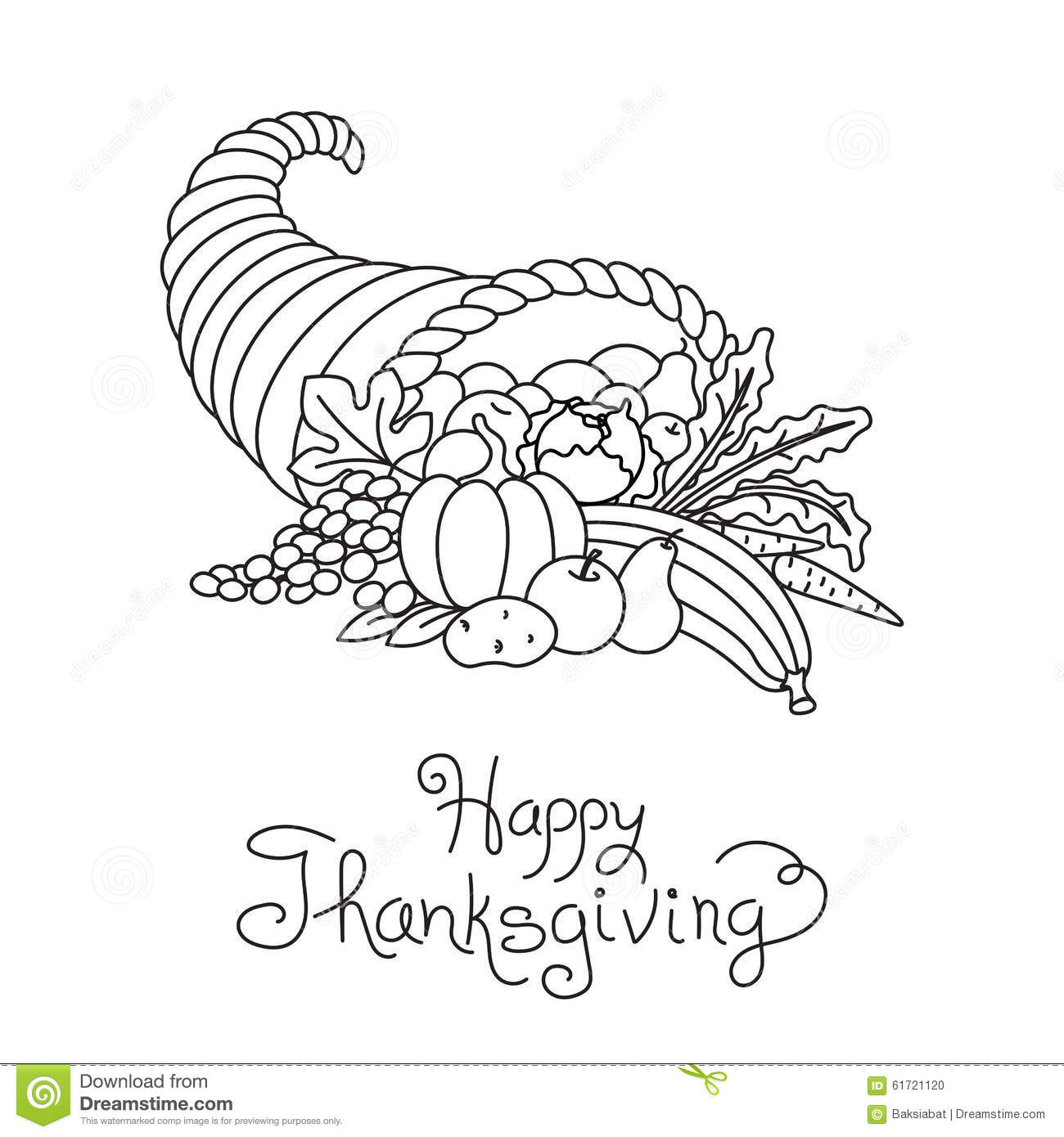 Drawing Vertical Lines In Html : Vector thanksgiving line art pumkins vertical cartoon