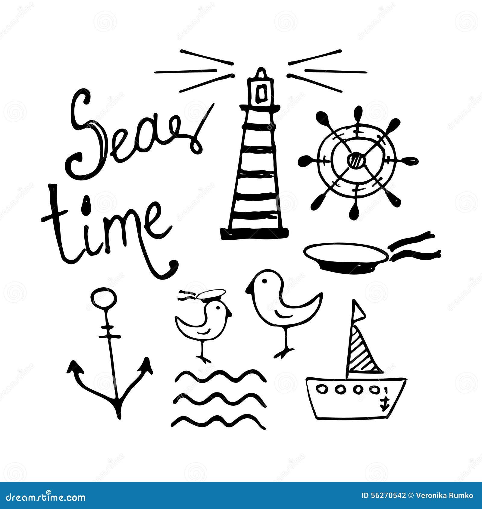 картинки нарисованные моря