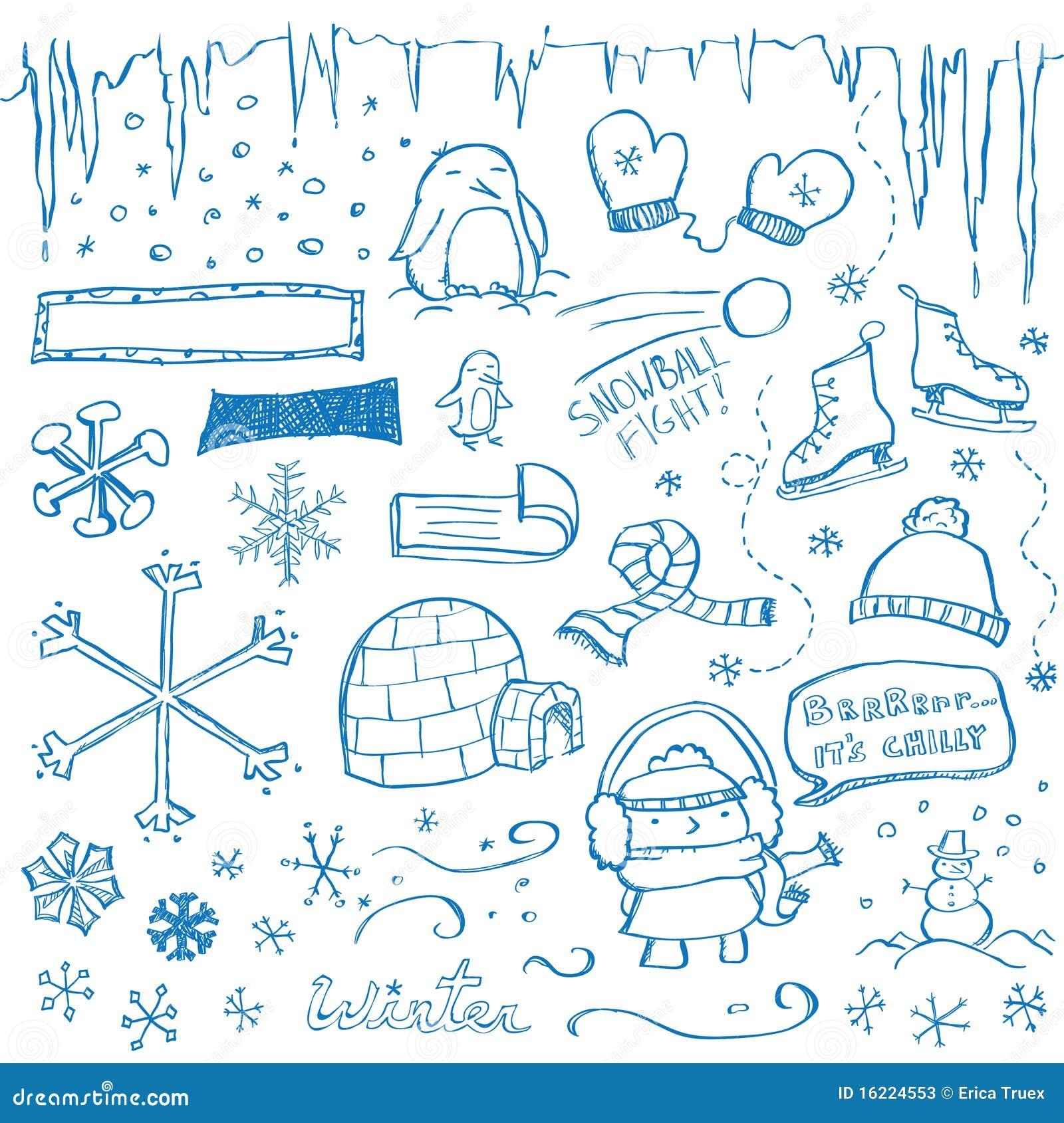 Doodles del invierno