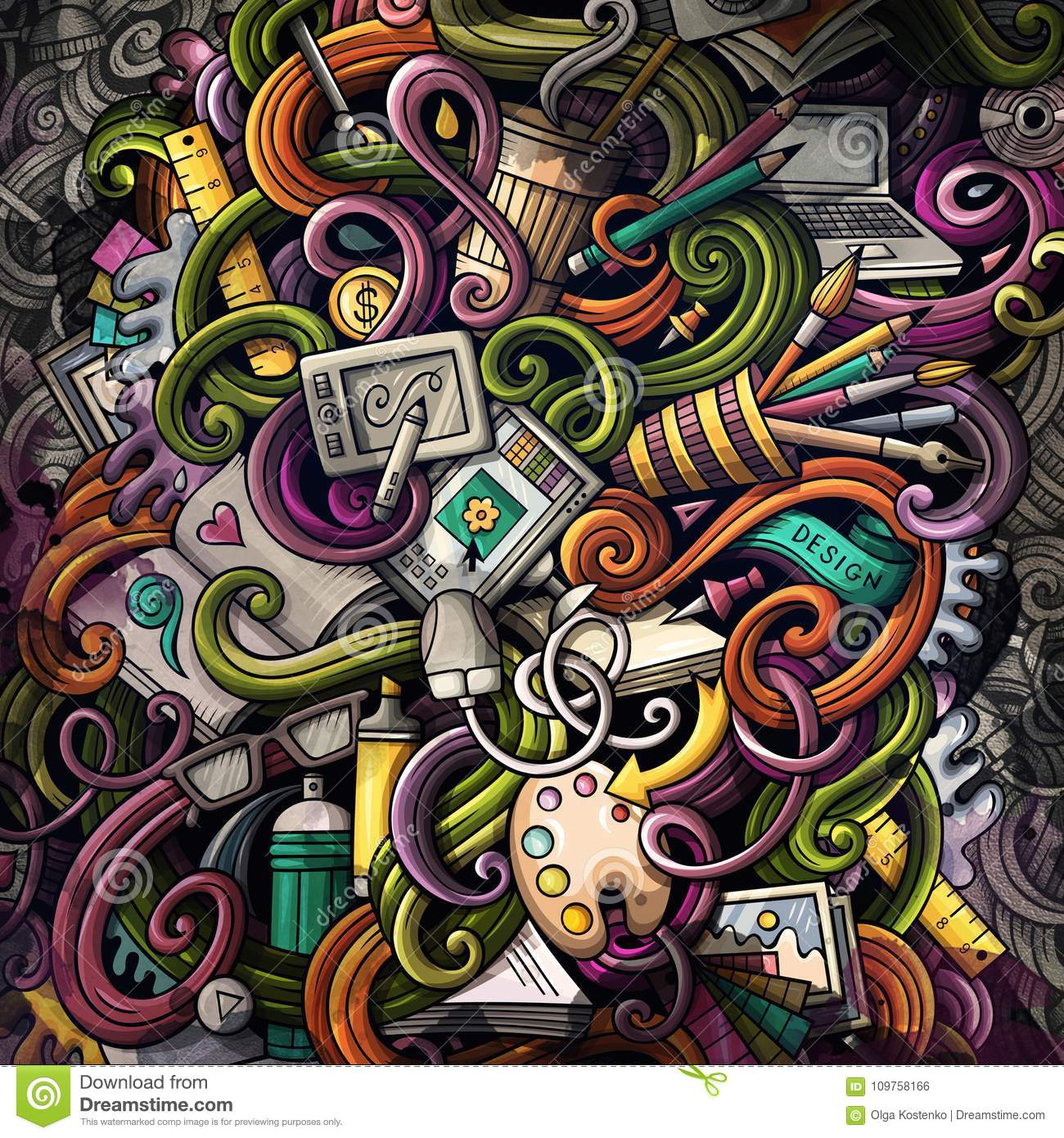 doodles graphic design illustration creative art background stock illustration illustration of computer artistic 109758166 https www dreamstime com doodles graphic design illustration creative art background colorful stylish raster wallpaper image109758166