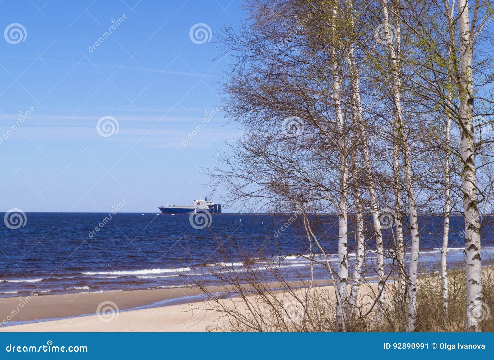Door de zeekust