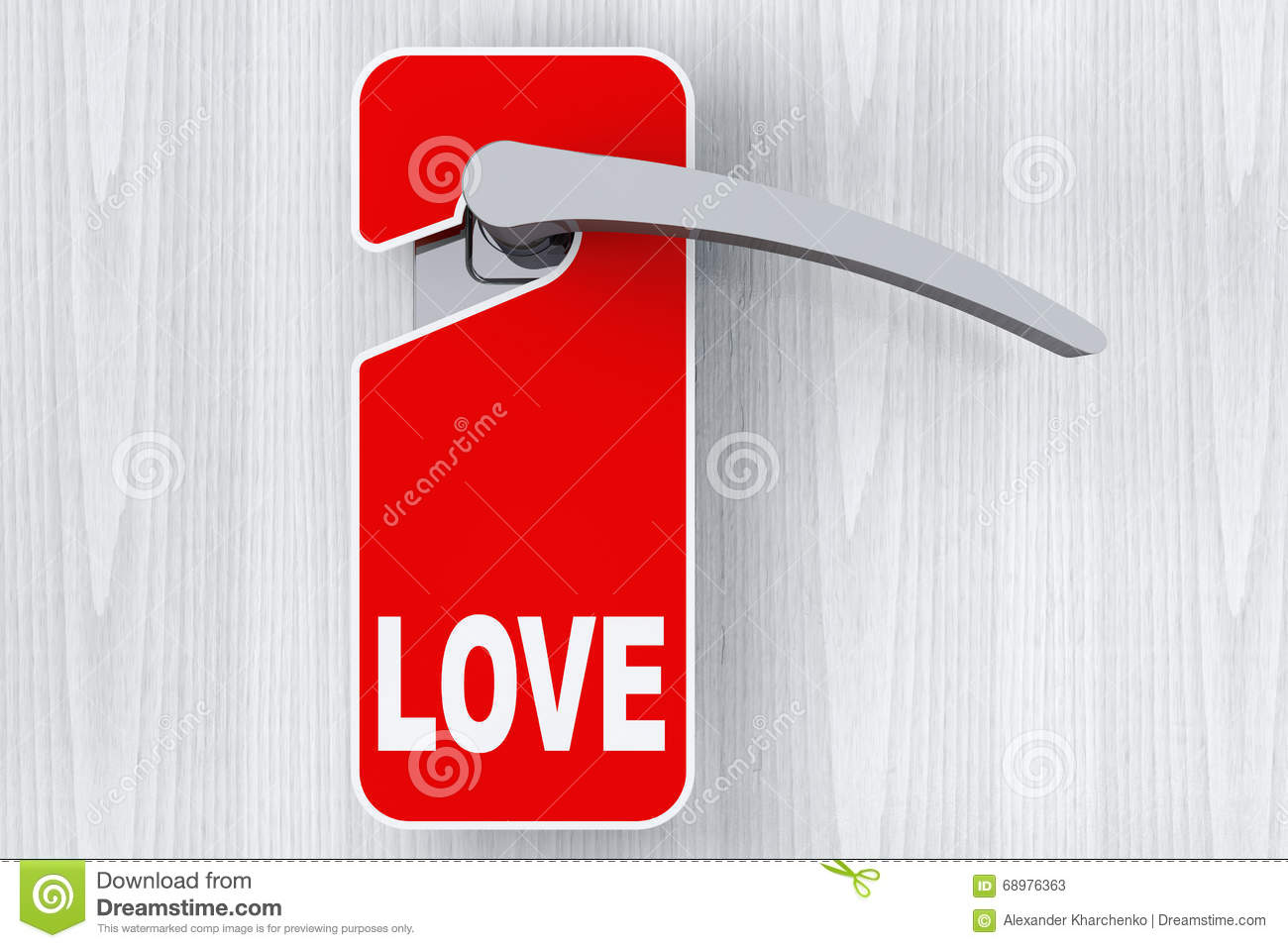Door with Do Not Disturb Tag and Love sign  sc 1 st  Dreamstime.com & Door With Do Not Disturb Tag And Love Sign Stock Image - Image of ...