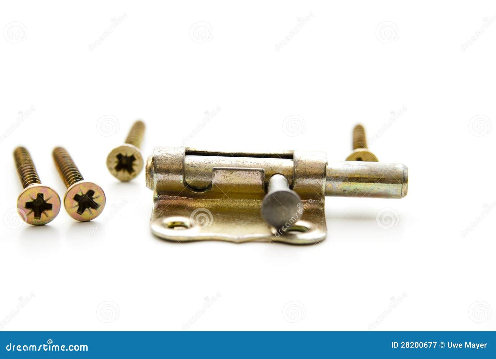 Door fastener  sc 1 st  Dreamstime.com & Door fastener stock image. Image of iron craftsman background ...