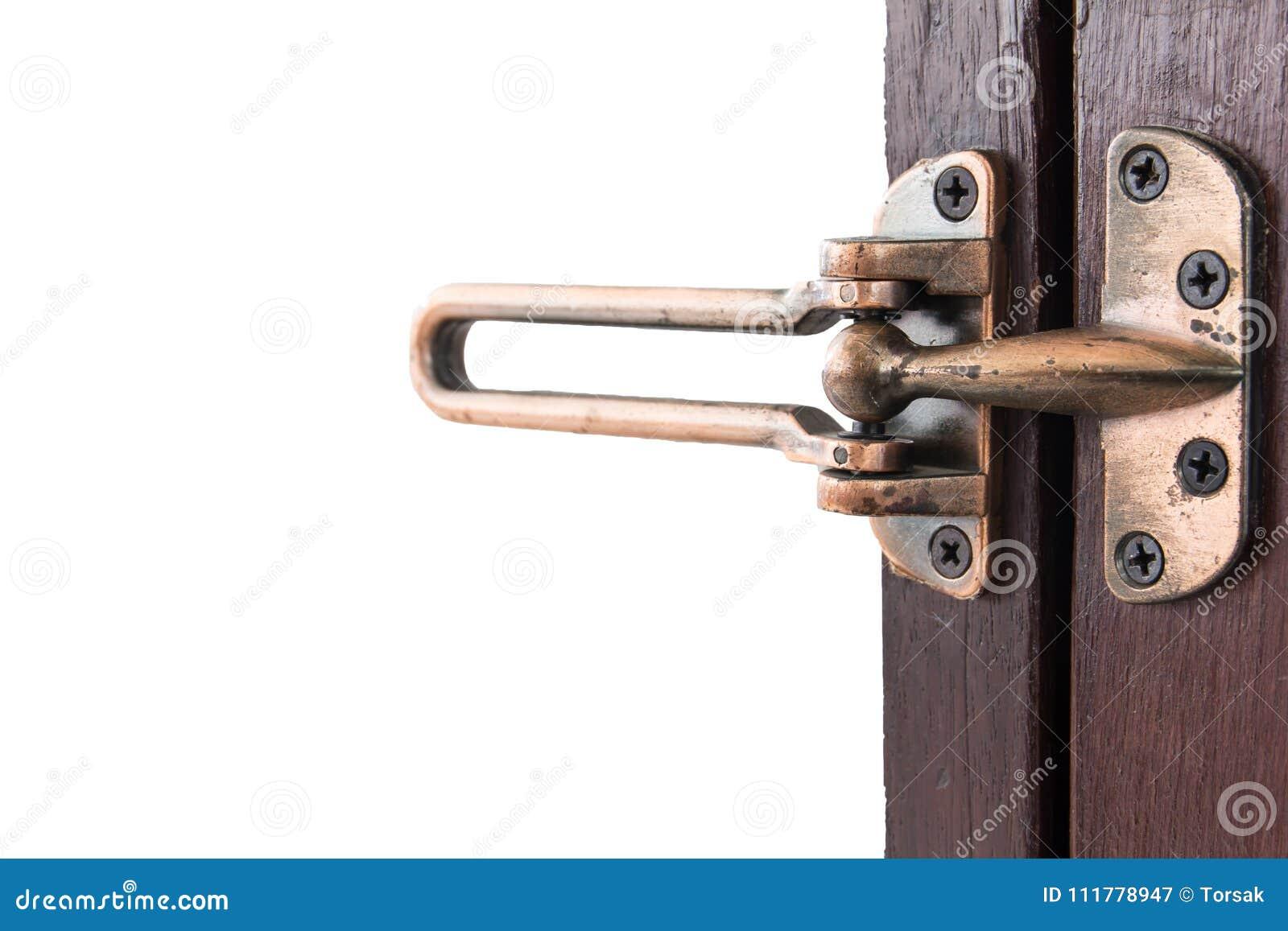 Door handle and security lock