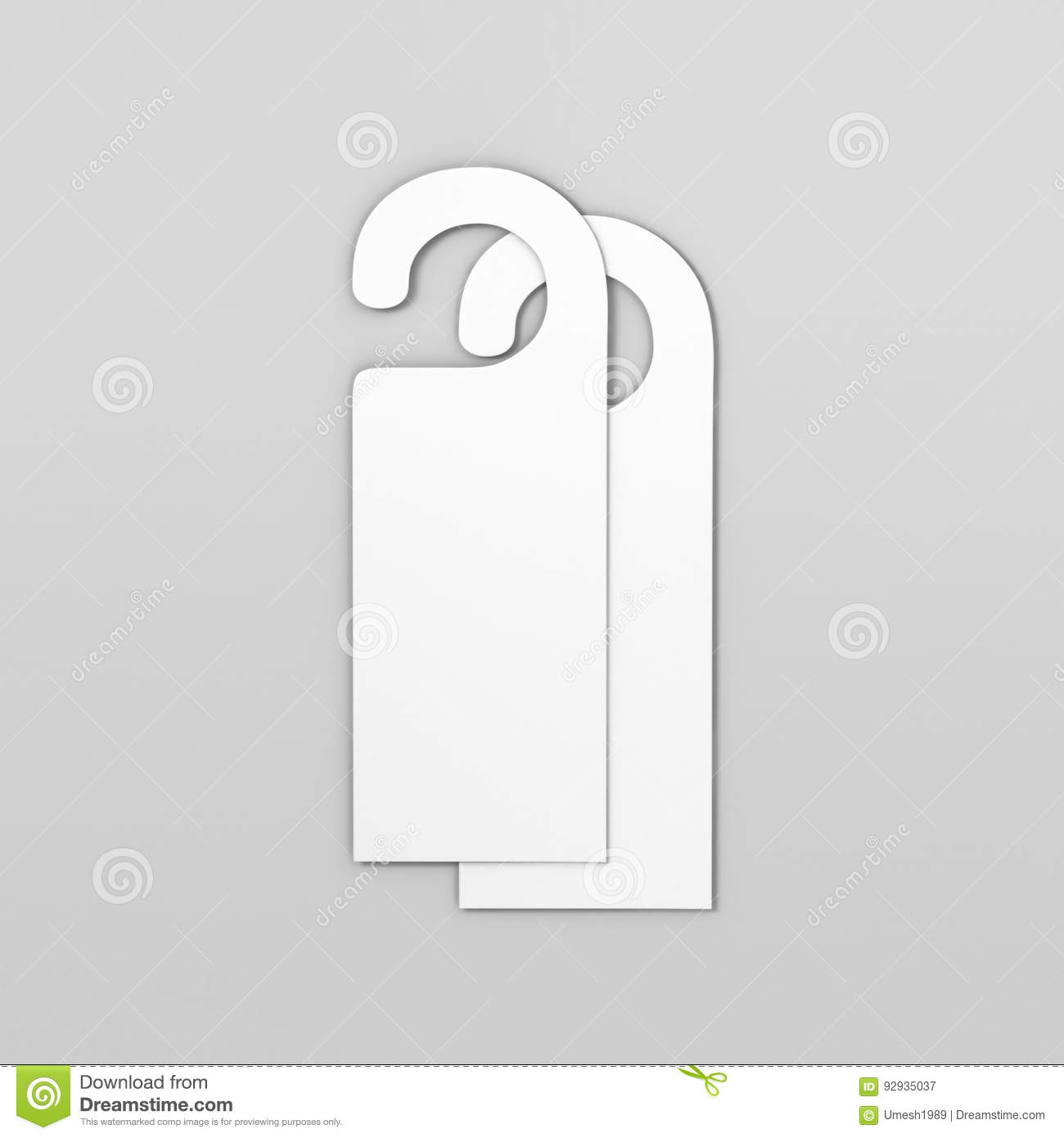 Door Hang Tags Stock Illustrations – 108 Door Hang Tags Stock ...