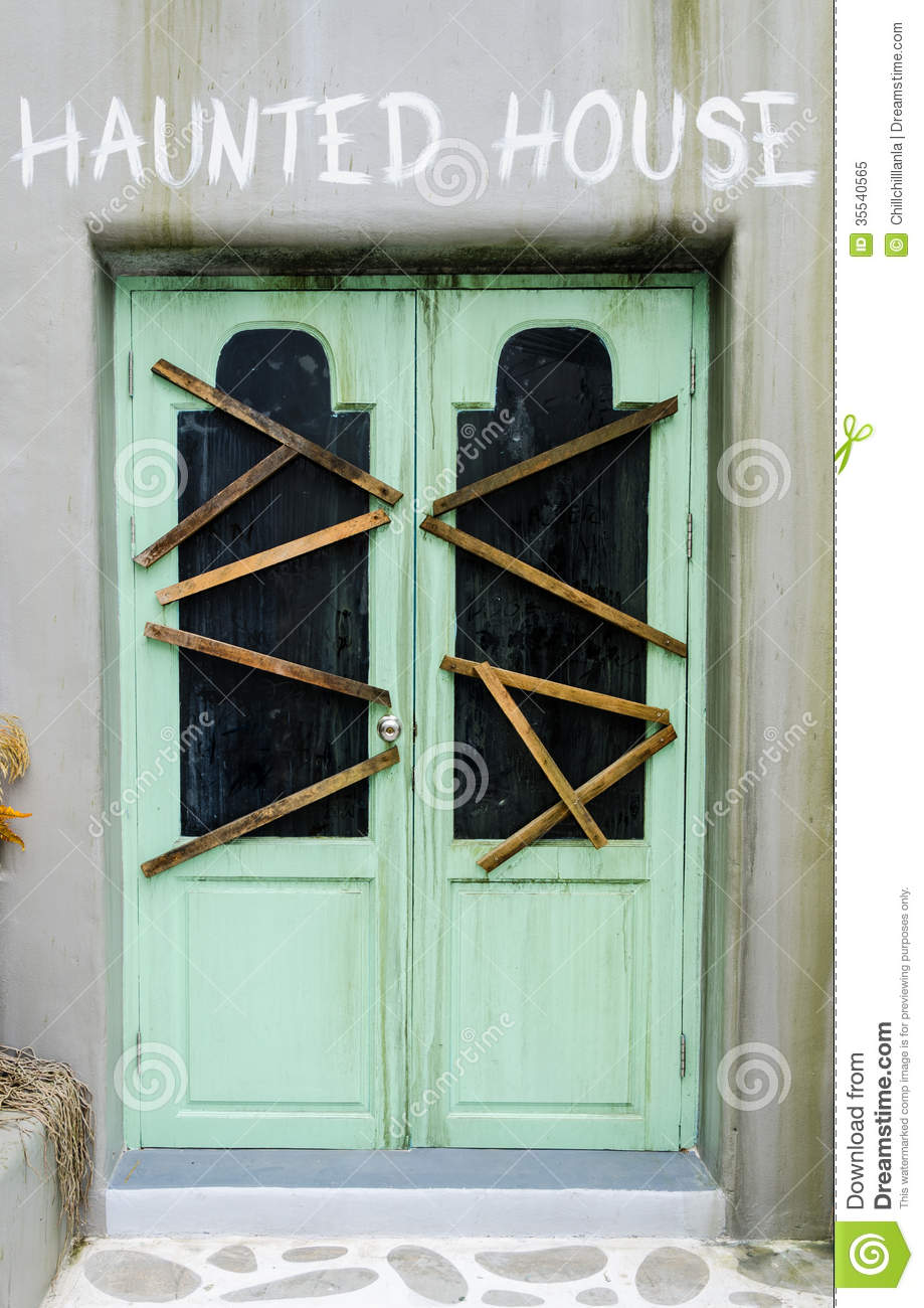 Door of haunted house stock image image of cryptic for 13 door haunted house