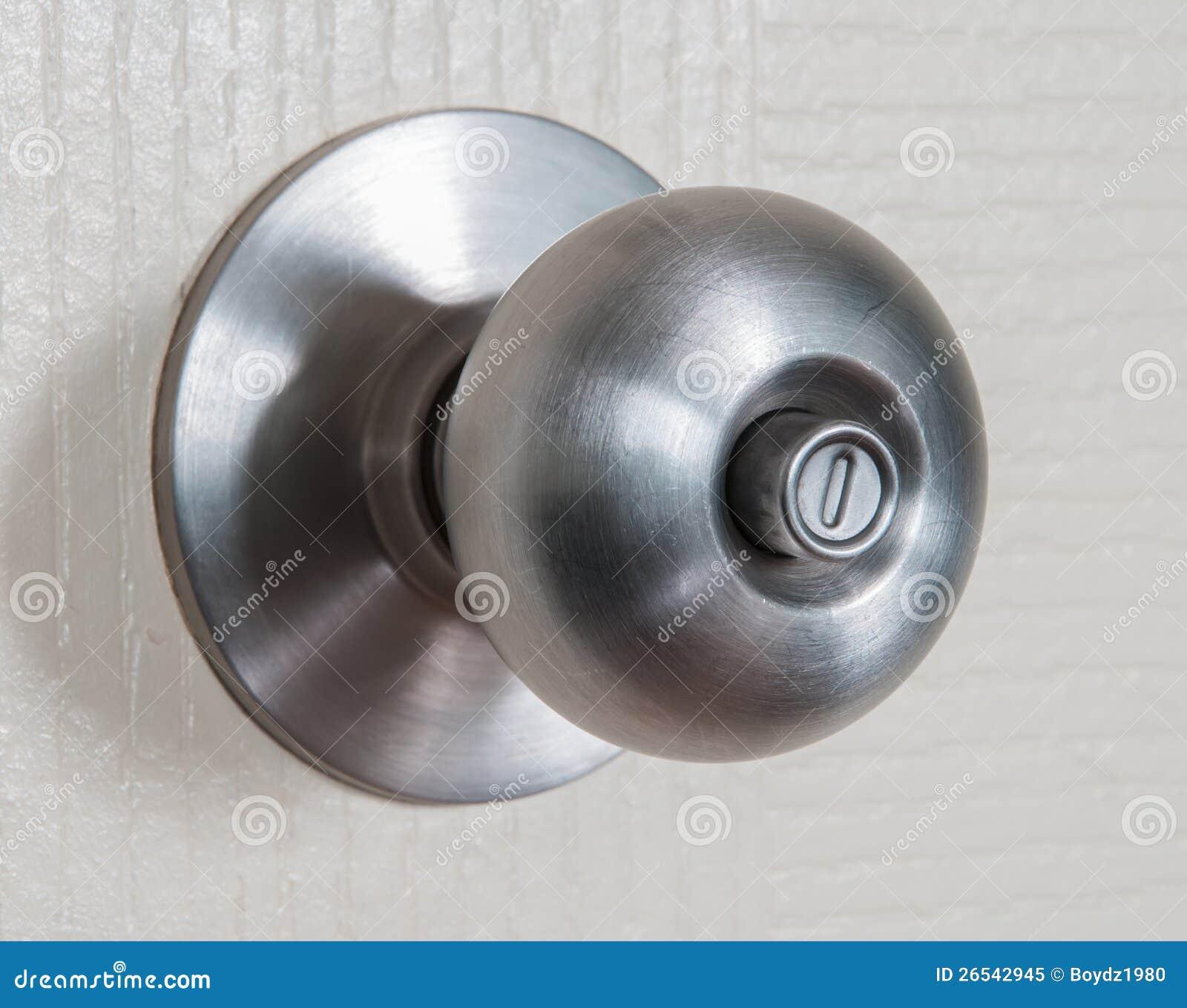 Door knob stock image. Image of shiny, door, aluminum - 26542945