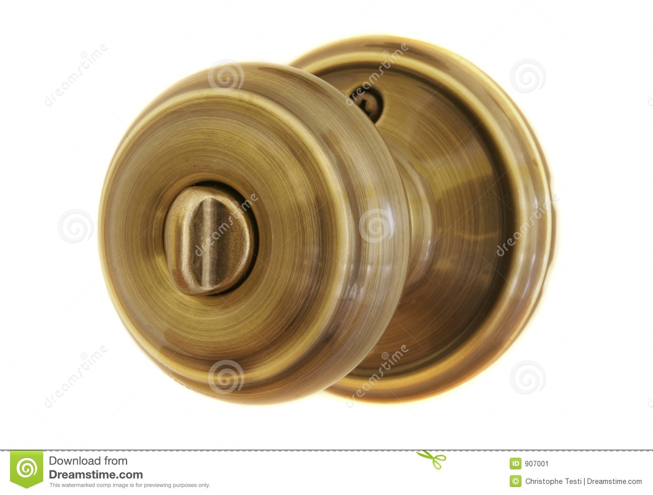 Door Knob Stock Image Image Of Knob Keyhole White