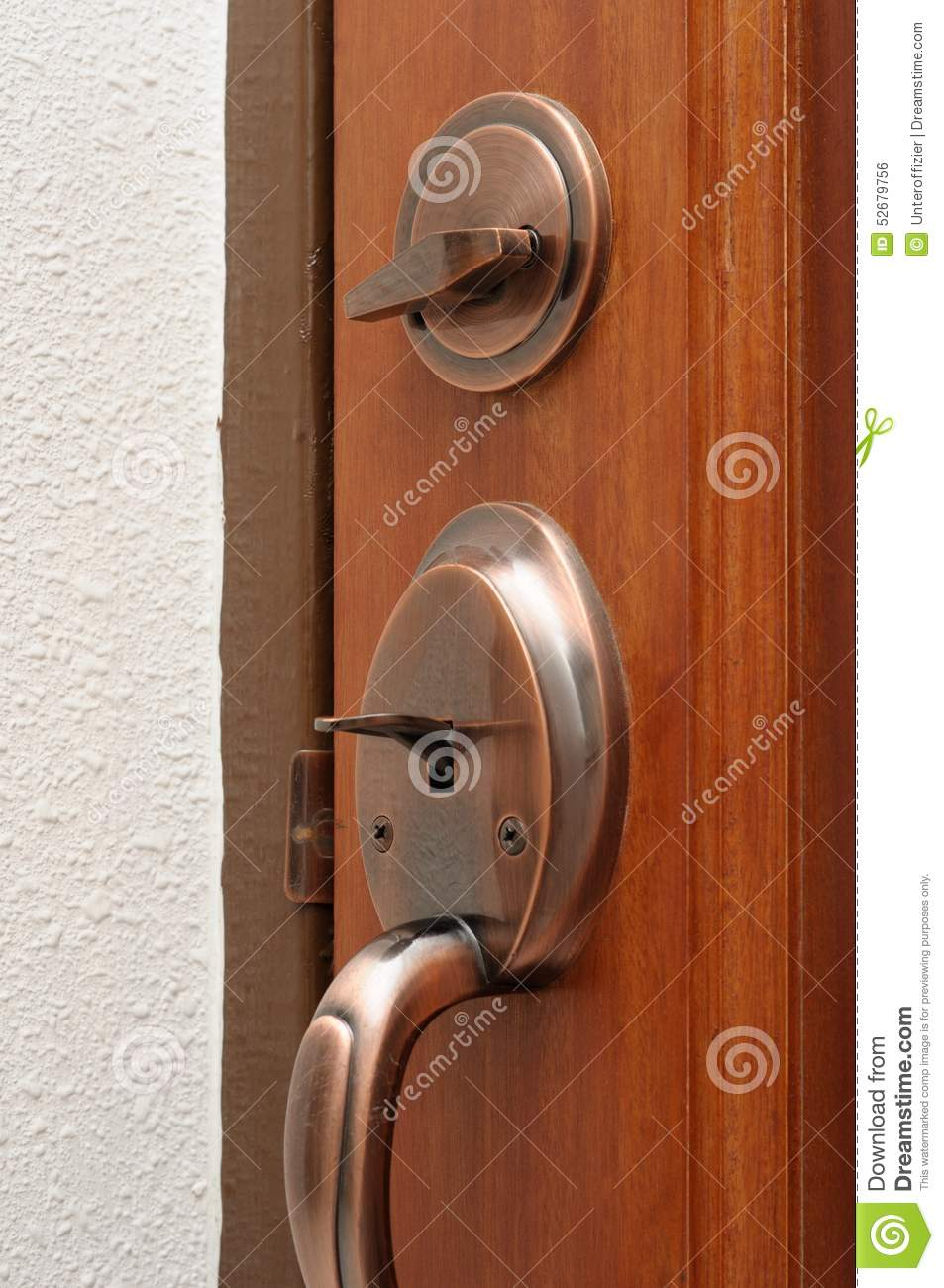 Door Latch And Lock Stock Photo Image Of Main Renovate
