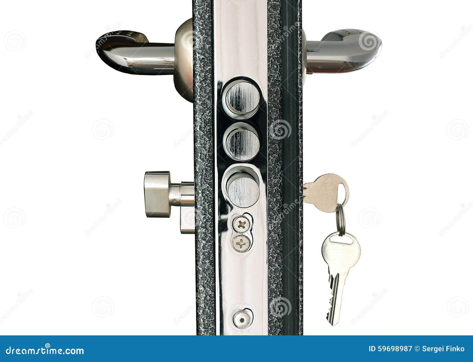 Door Lock Royalty Free Stock Photo Cartoondealer Com