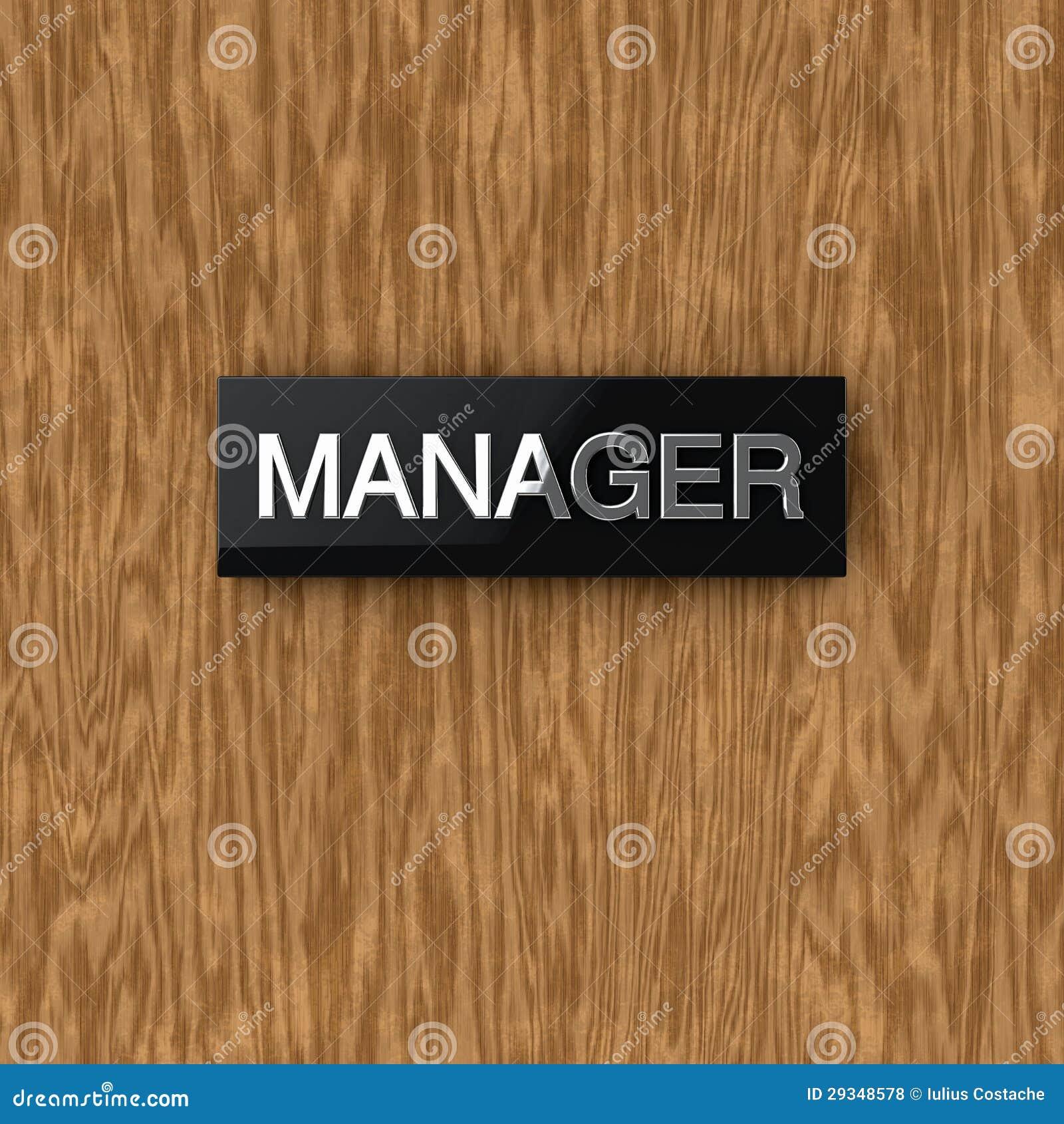 Office Door With Nameplate Stock Image Cartoondealer Com