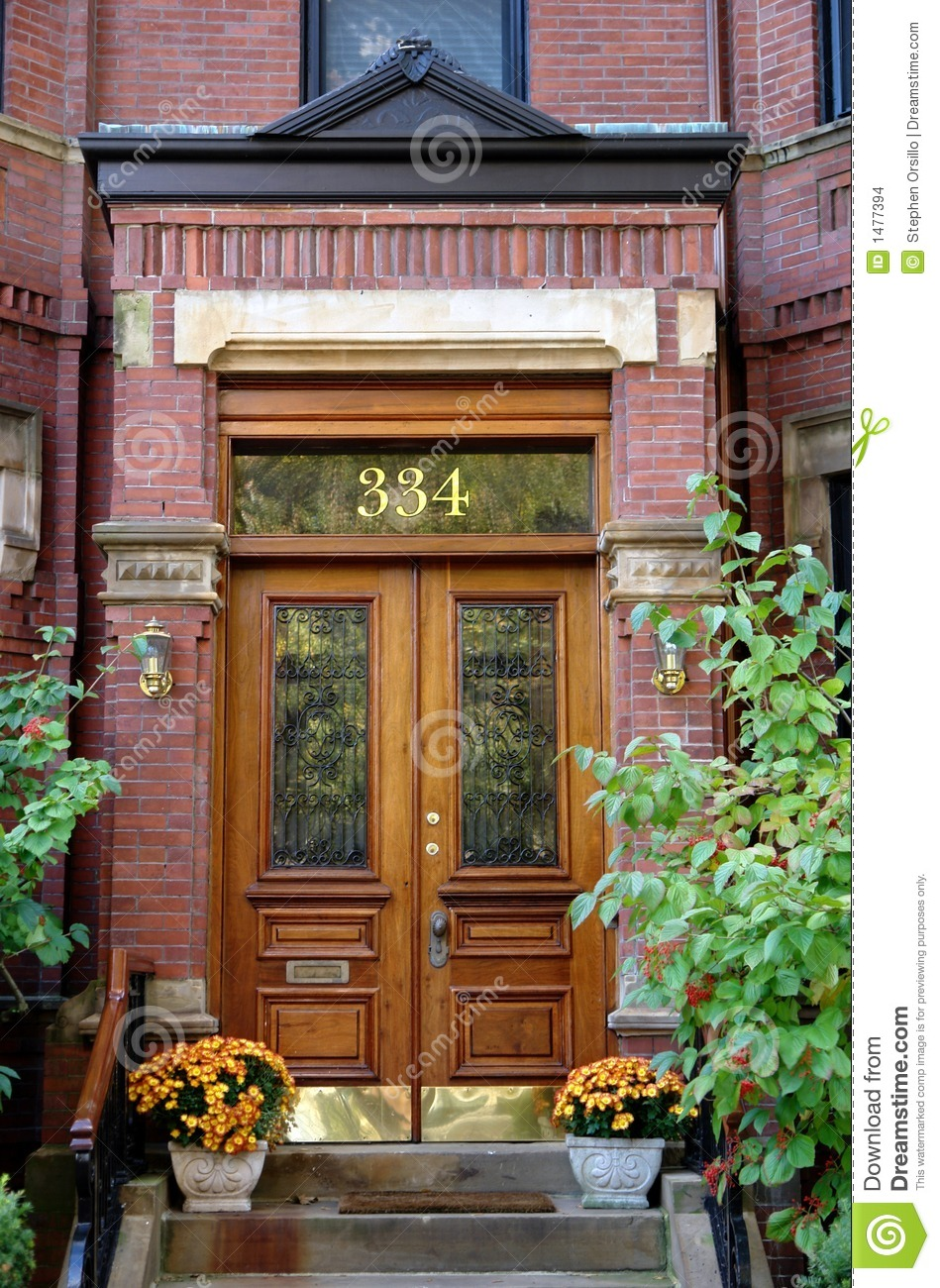 Door Number Three Hundred And Thirty Four Boston