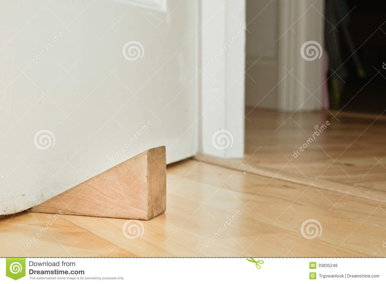 Door Stopper Royalty Free Stock Image - Image: 33835246
