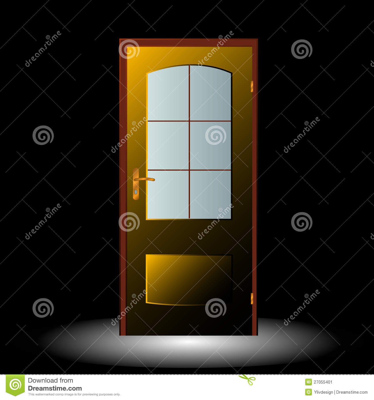 door symbol stock image image 27055401