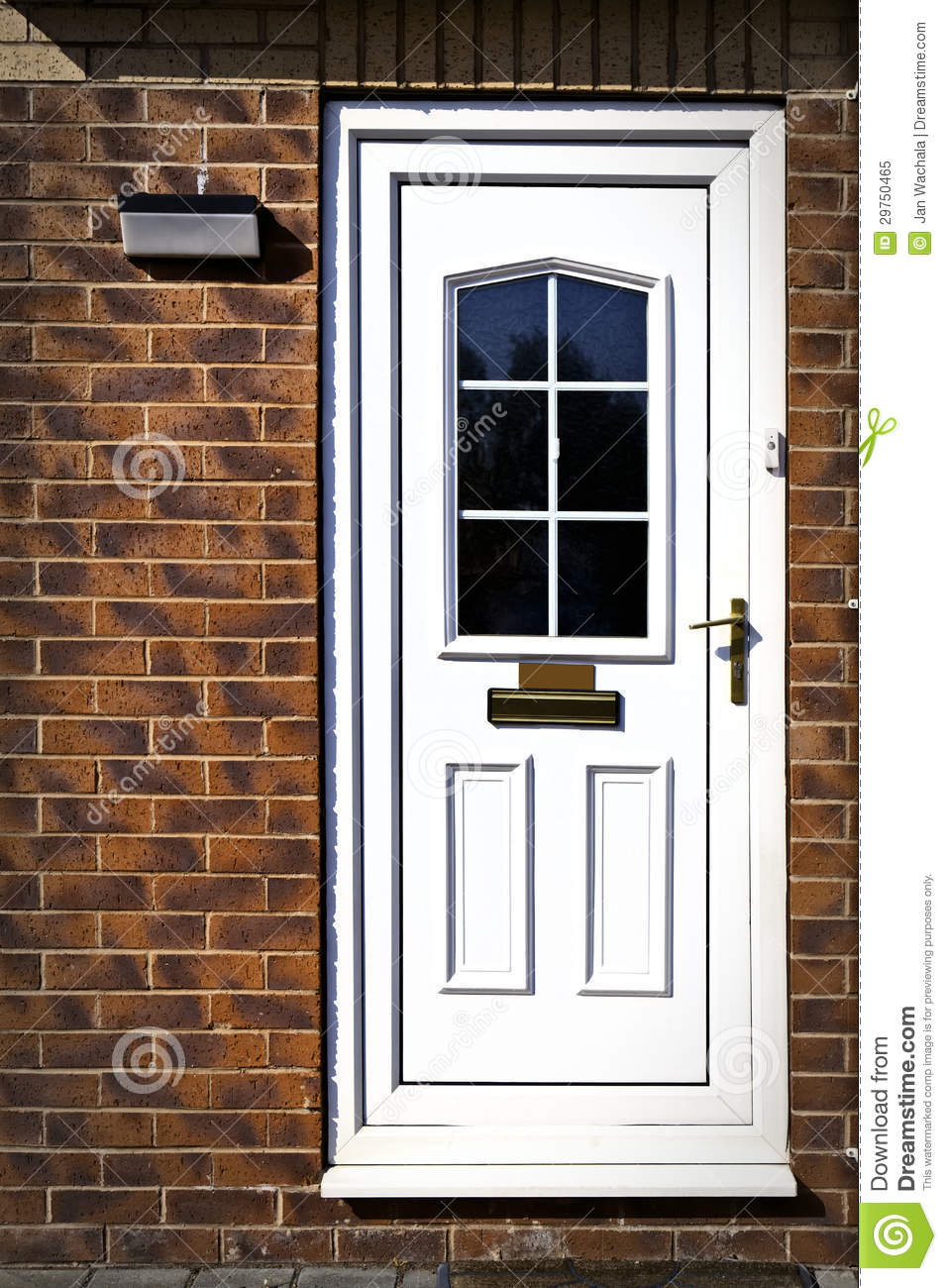 English front door stock image image of nobody arch for Fenetre english
