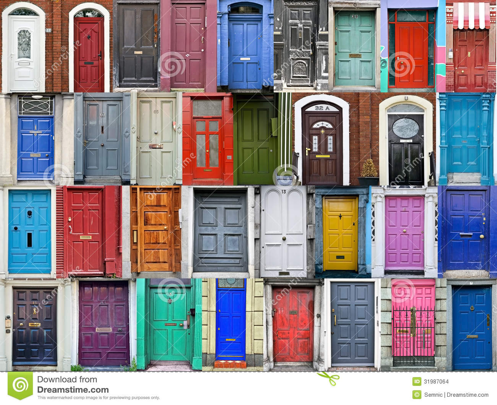 Doors of Dublin Ireland  sc 1 st  Dreamstime.com & Doors of Dublin Ireland stock photo. Image of historic - 31987064