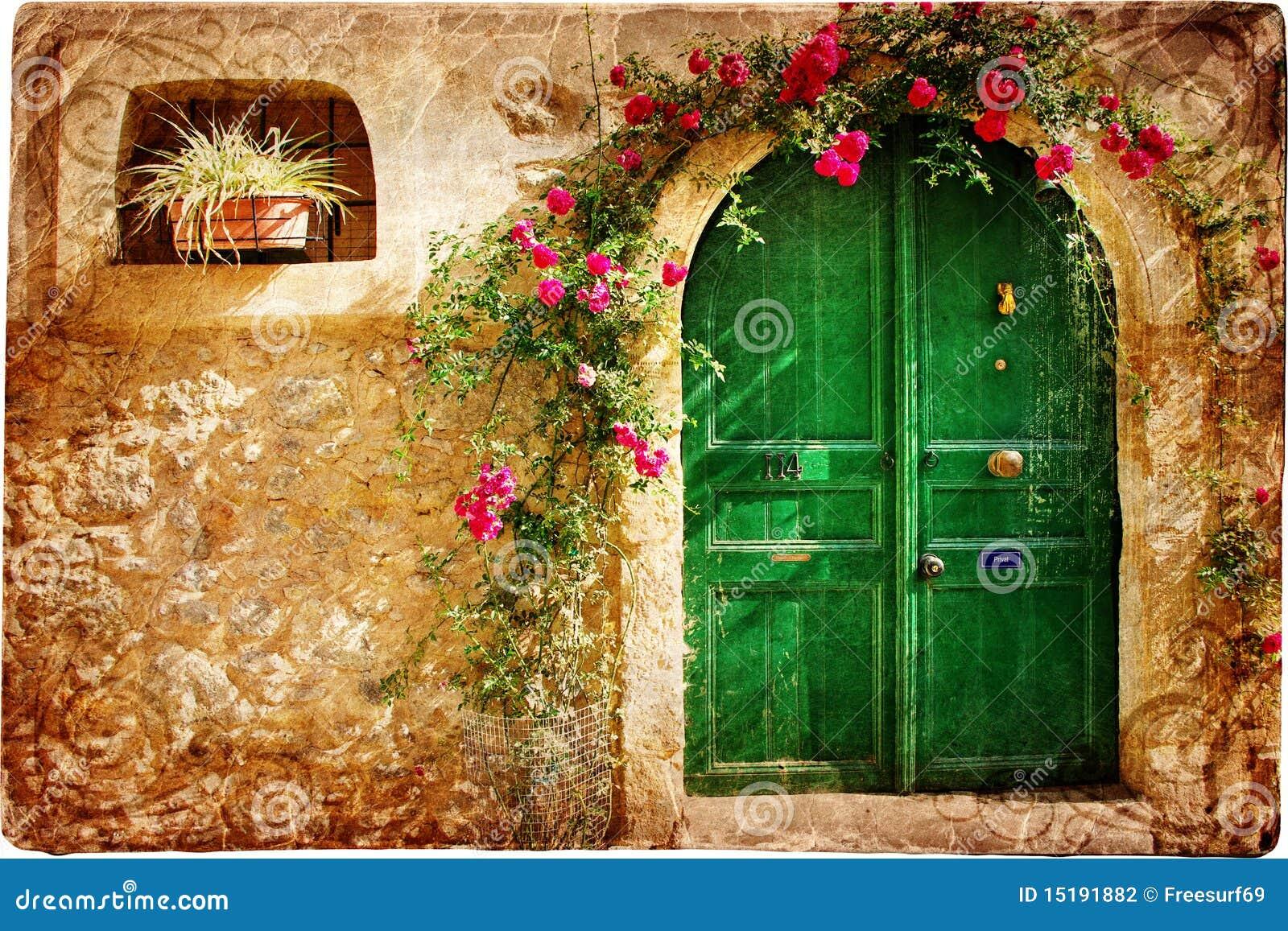 Doors of Greece
