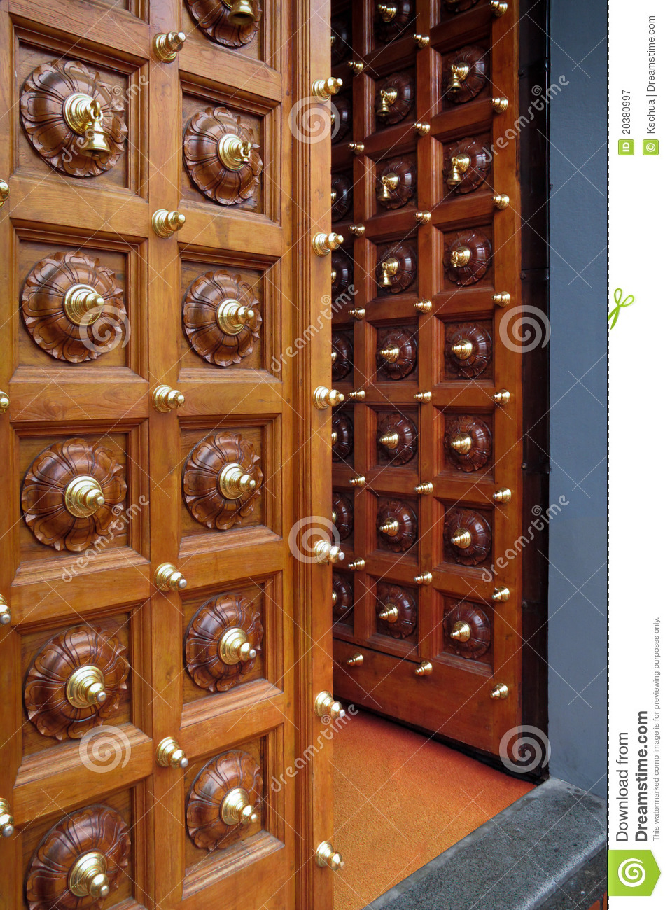 Doors Opening Royalty Free Stock Photography Image 20380997