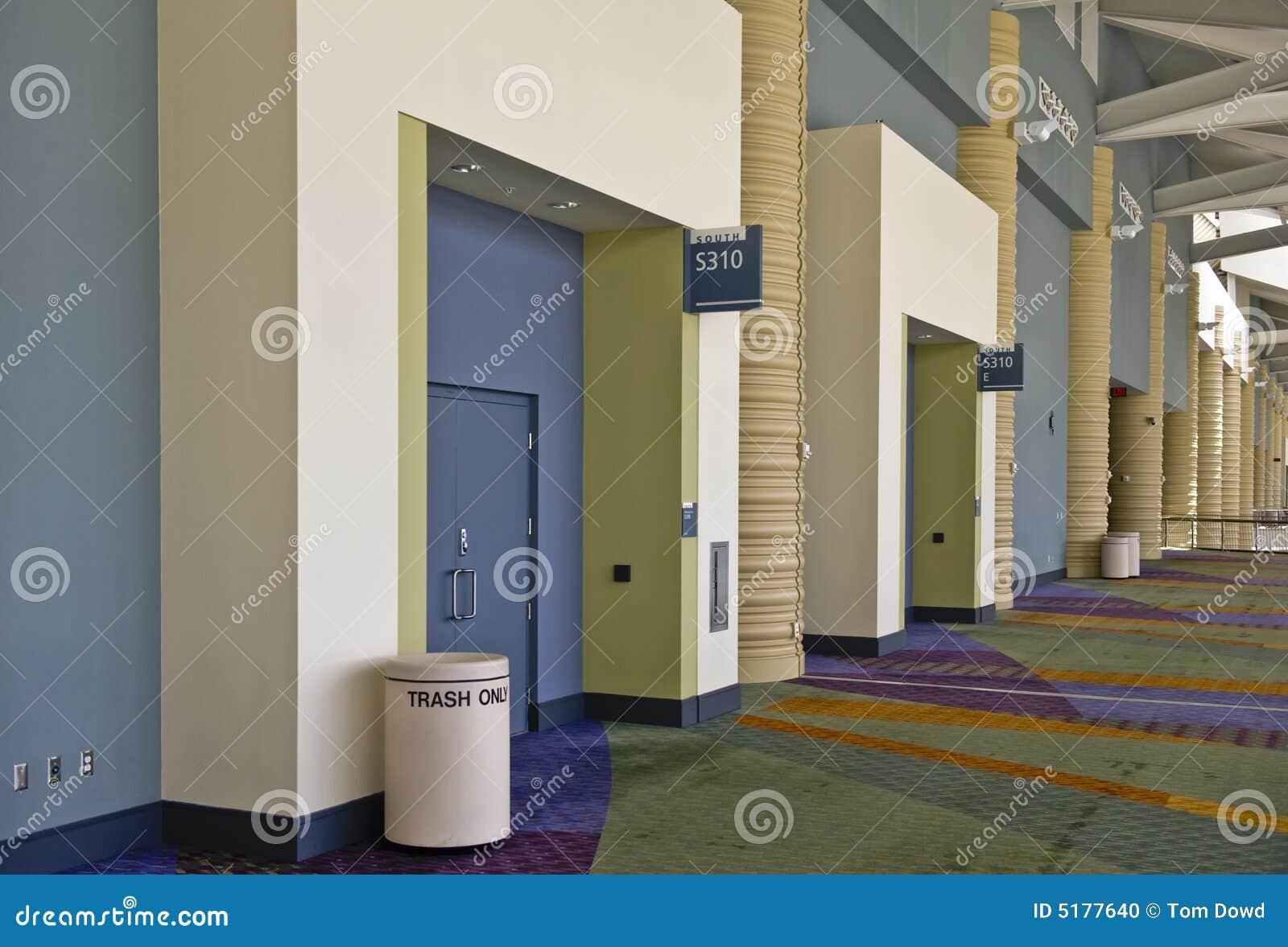 973 #674D28 Interior Of The Orange County Convention Center In Orlando  Florida Picture/photo