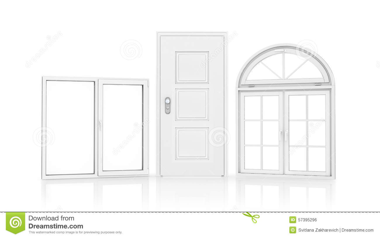 Doors And Windows Stock Illustration Image 57395296