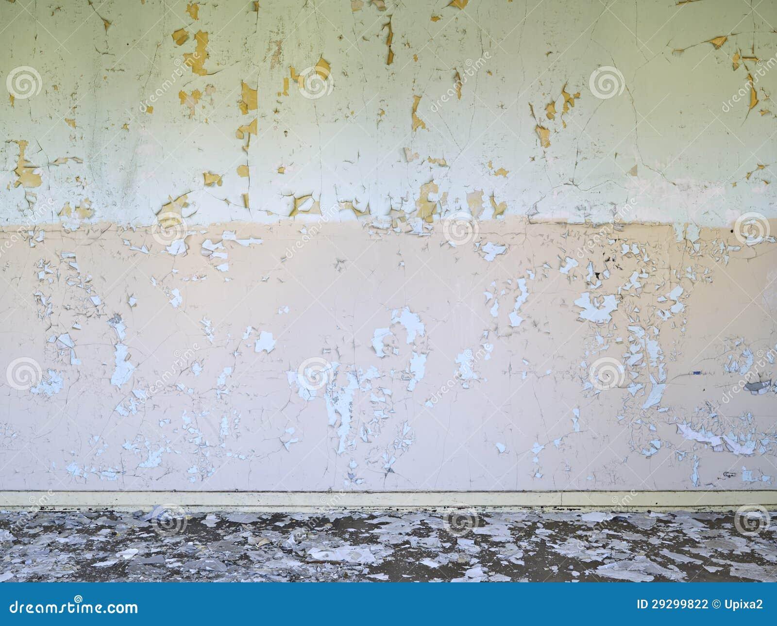 Doorstane Achtergrond, Oud, Beton, Muur, Vloer, Groen Rood, Stock ...