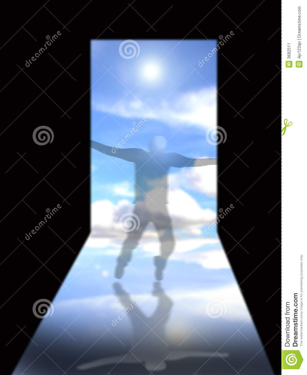 Doorway To Heaven Stock Image Image 3682511