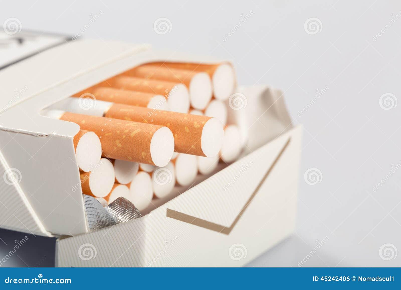 Doos van sigaretten