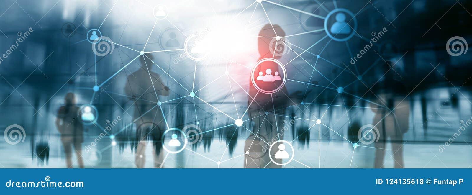 Doppelbelichtungsleutenetz structureà ¾ à ¾ Stunde - Personalwesen Management und Einstellungskonzept