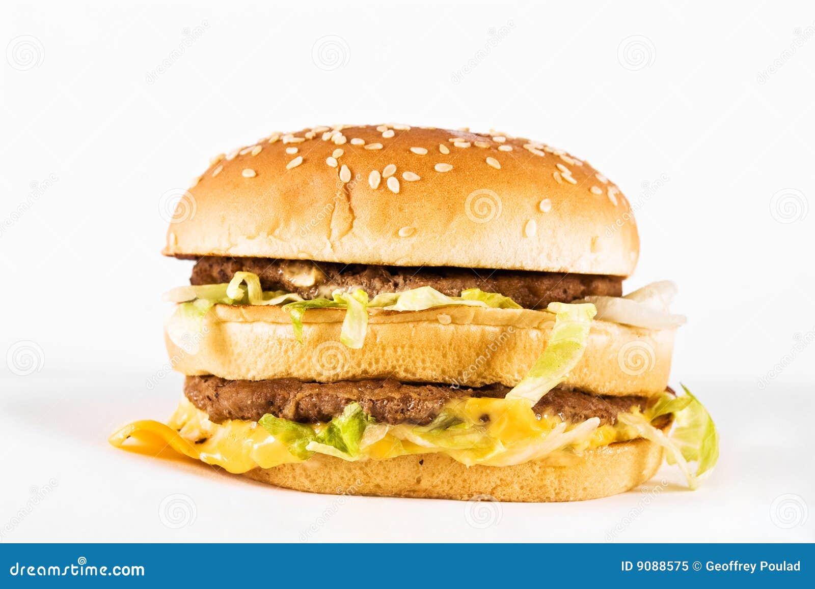 Doppelter Cheeseburger