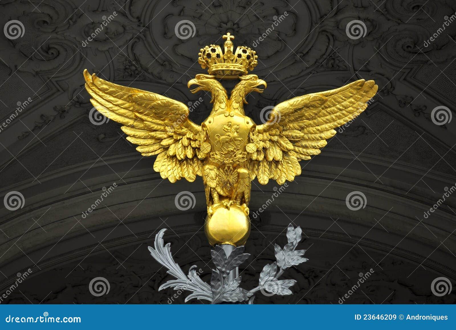 Hochwertig Download Doppeltes Ging Adler, Winter Palast, St Petersburg Voran Stockbild    Bild Von