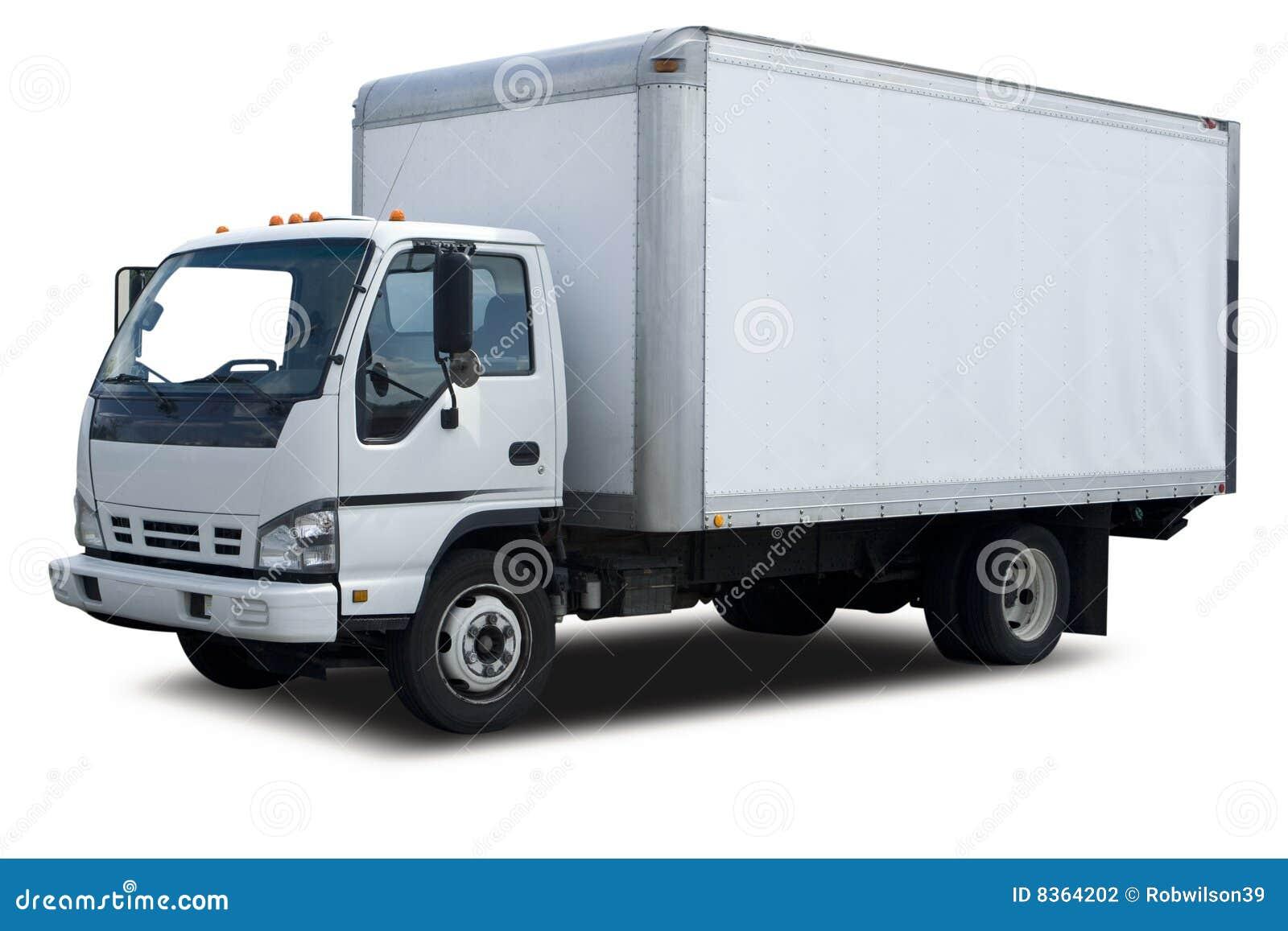 Doręczeniowa ciężarówka