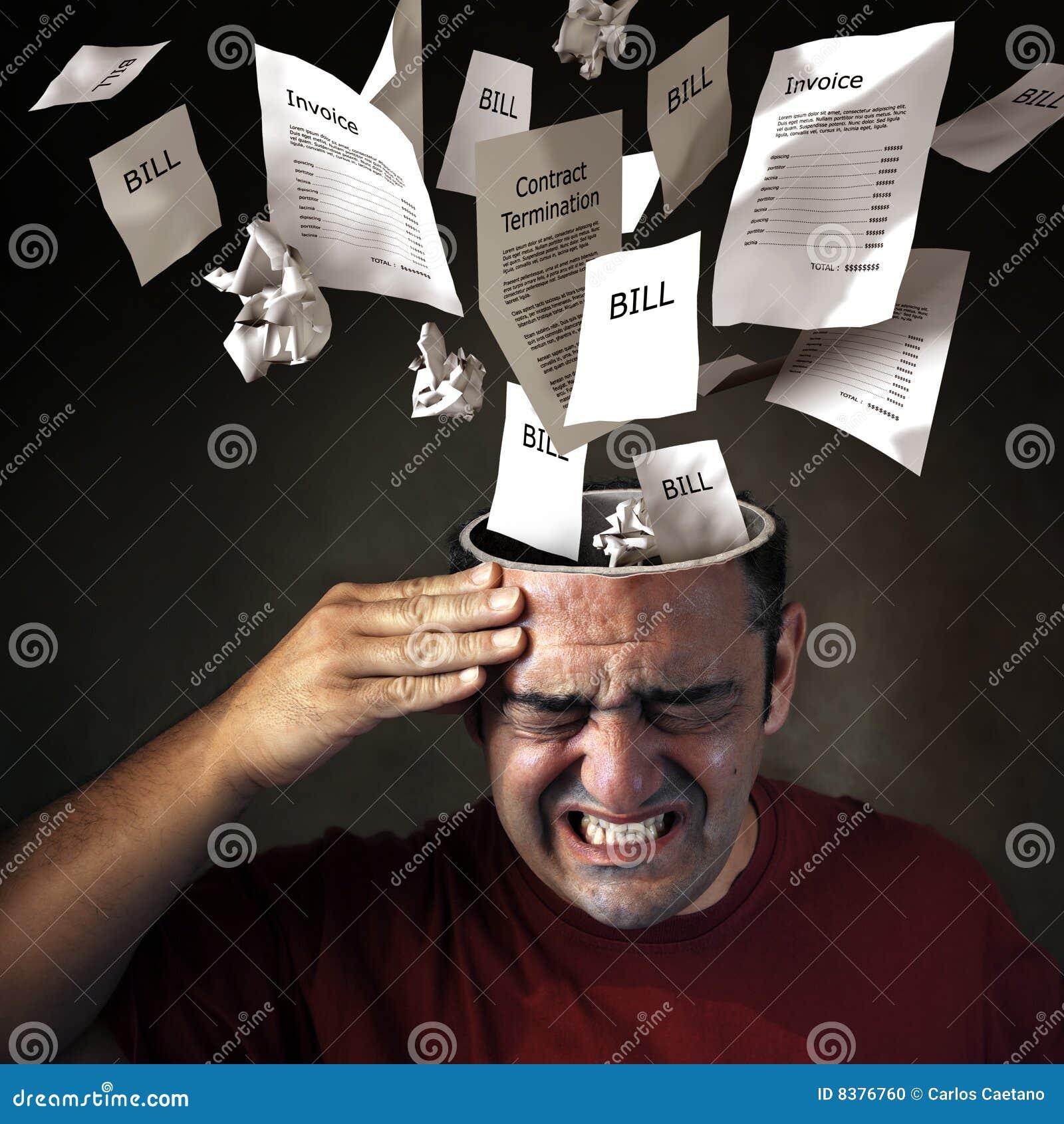 Dor de cabeça financeira