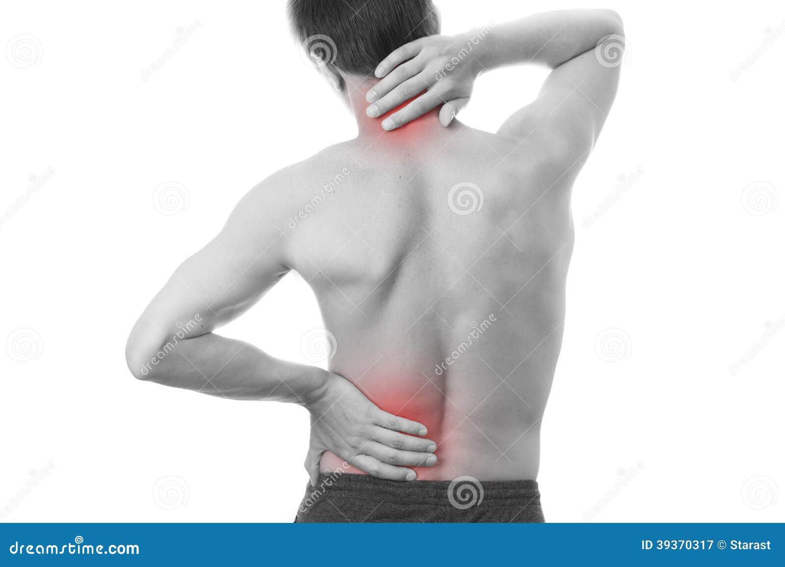 Dor nas costas nos homens