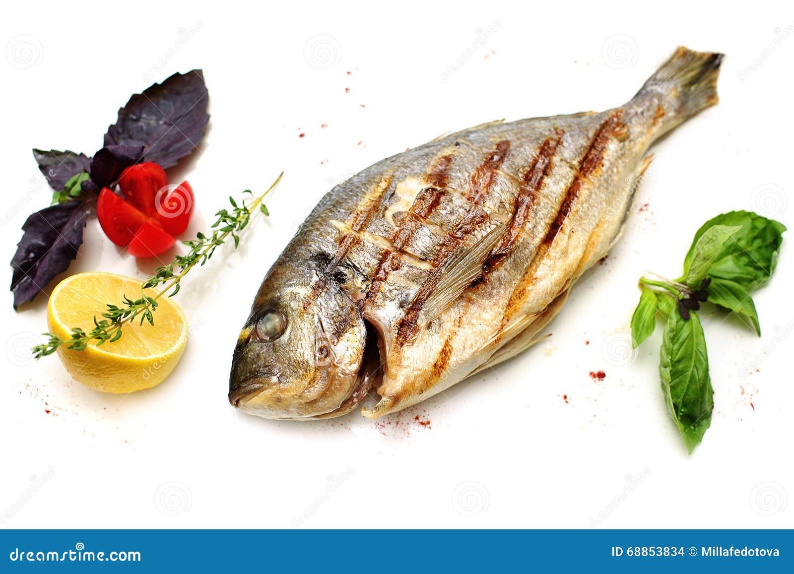 Dorado Fish with Garnish