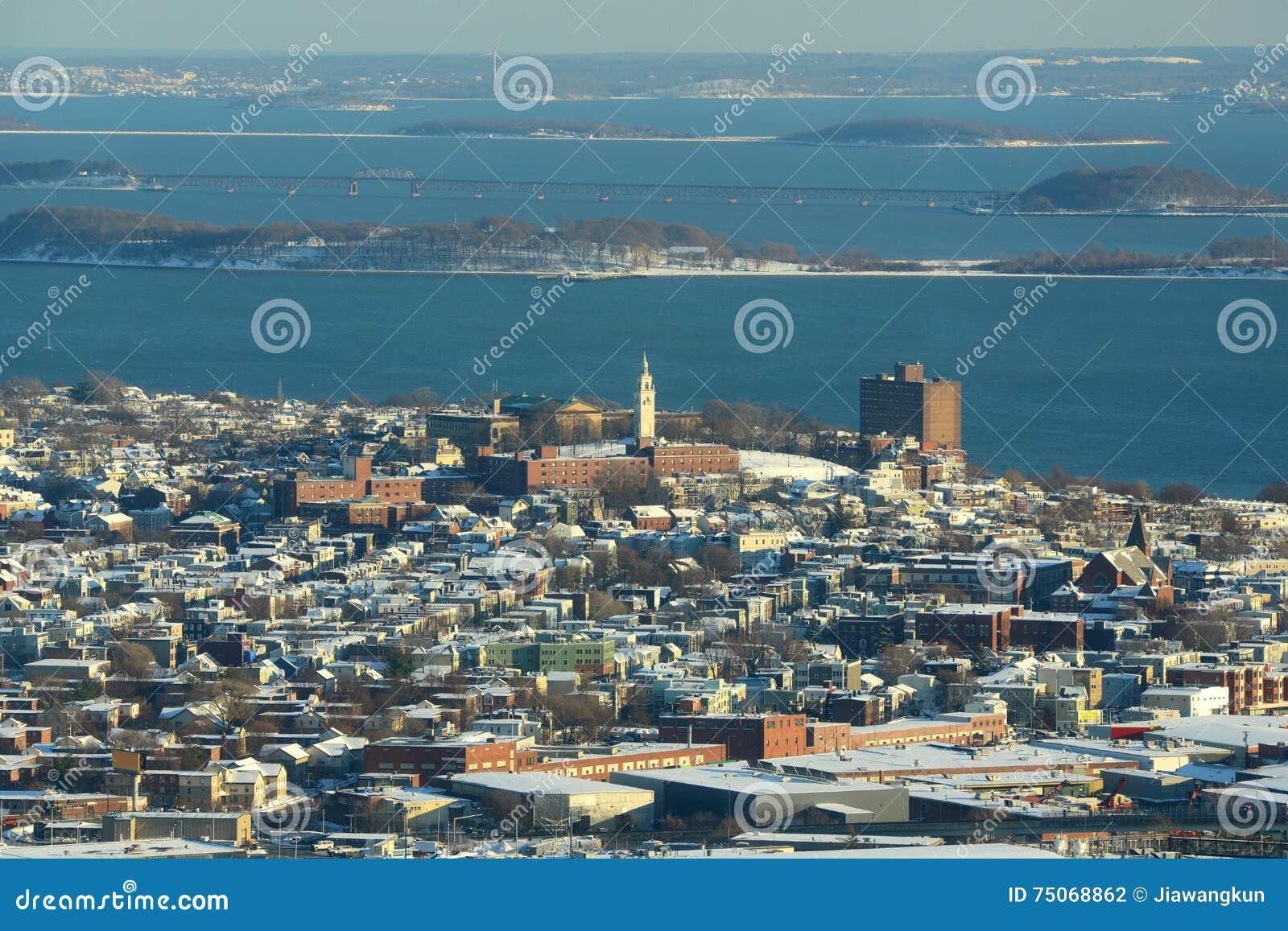 Dorchester wzrosty, Boston, Massachusetts, usa