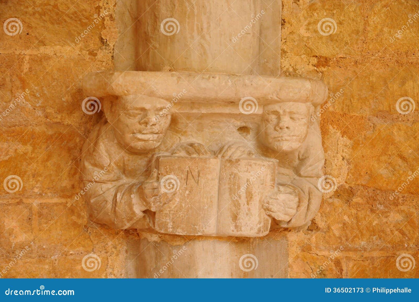 Dordogne, l abbaye de Cadouin dans Perigord