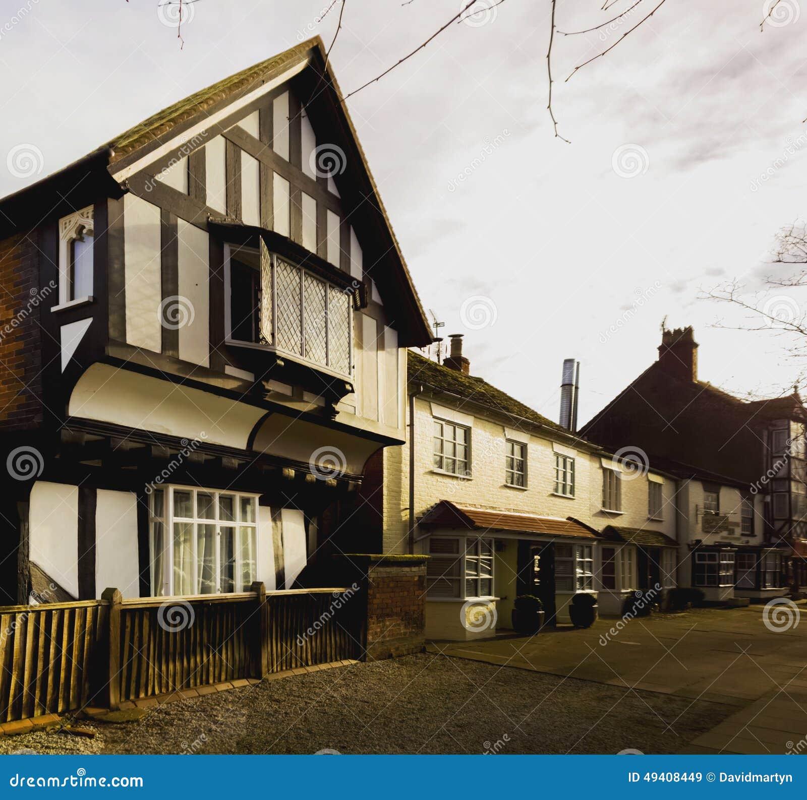 Download Dorf stockbild. Bild von halb, real, haupt, england, groß - 49408449
