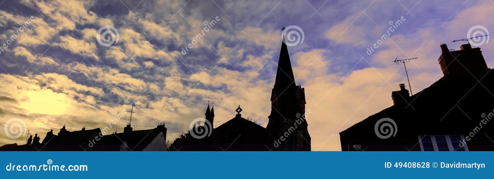 Download Dorf stockfoto. Bild von eigenschaften, land, straße - 49408628