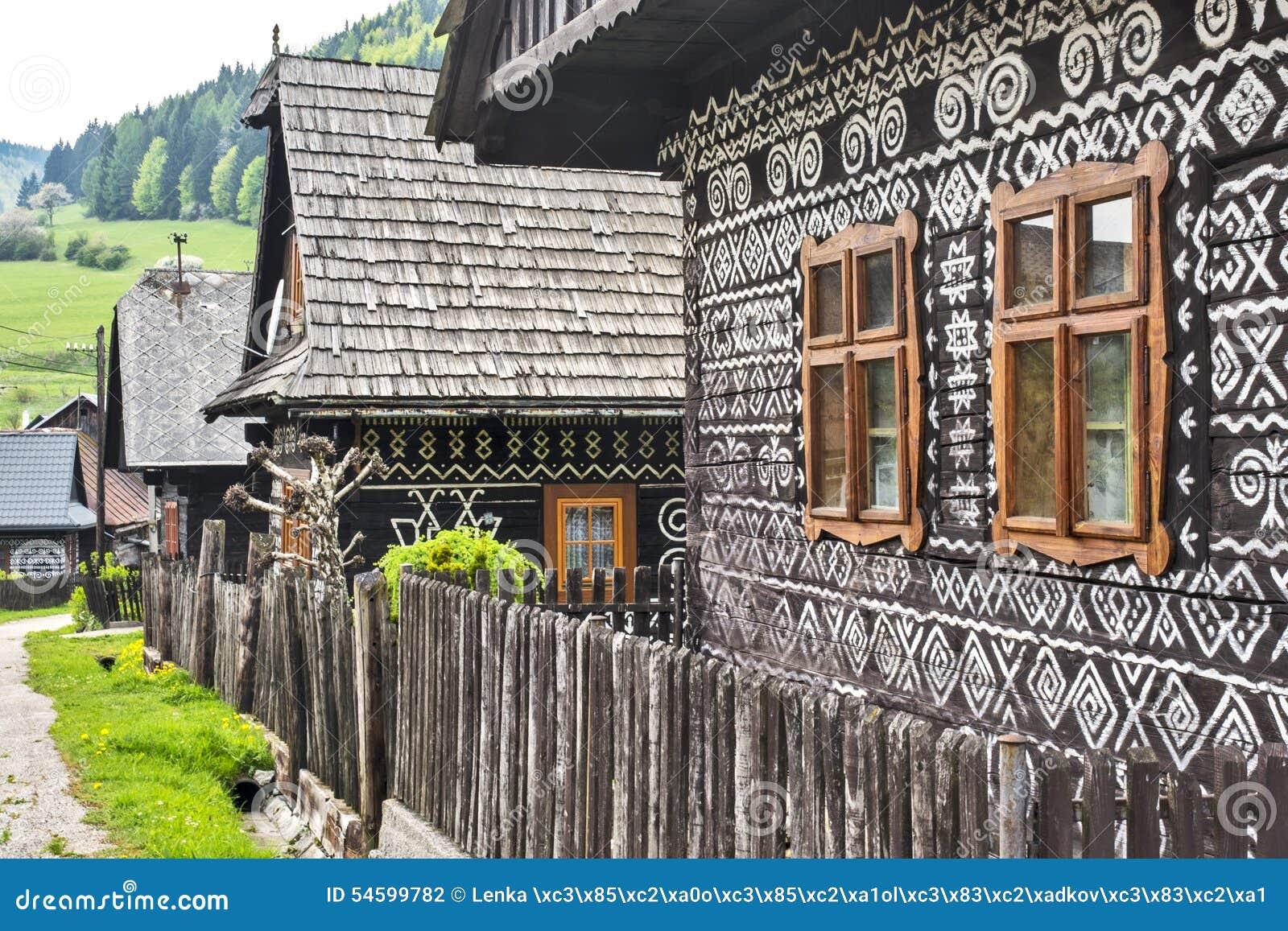 Dorf Cicmany - Slowakei