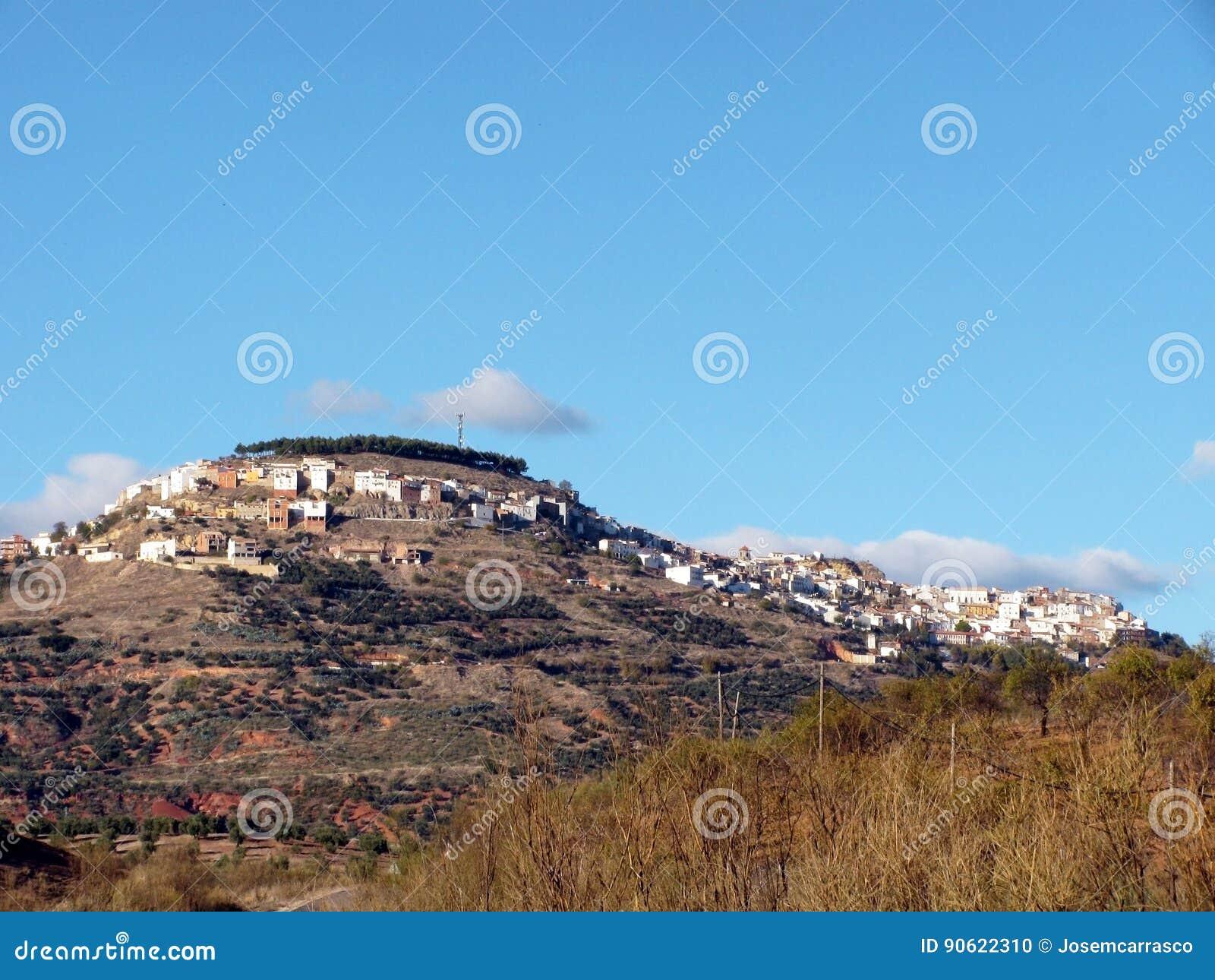 Dorf von Chiclana De Segura in Jaen