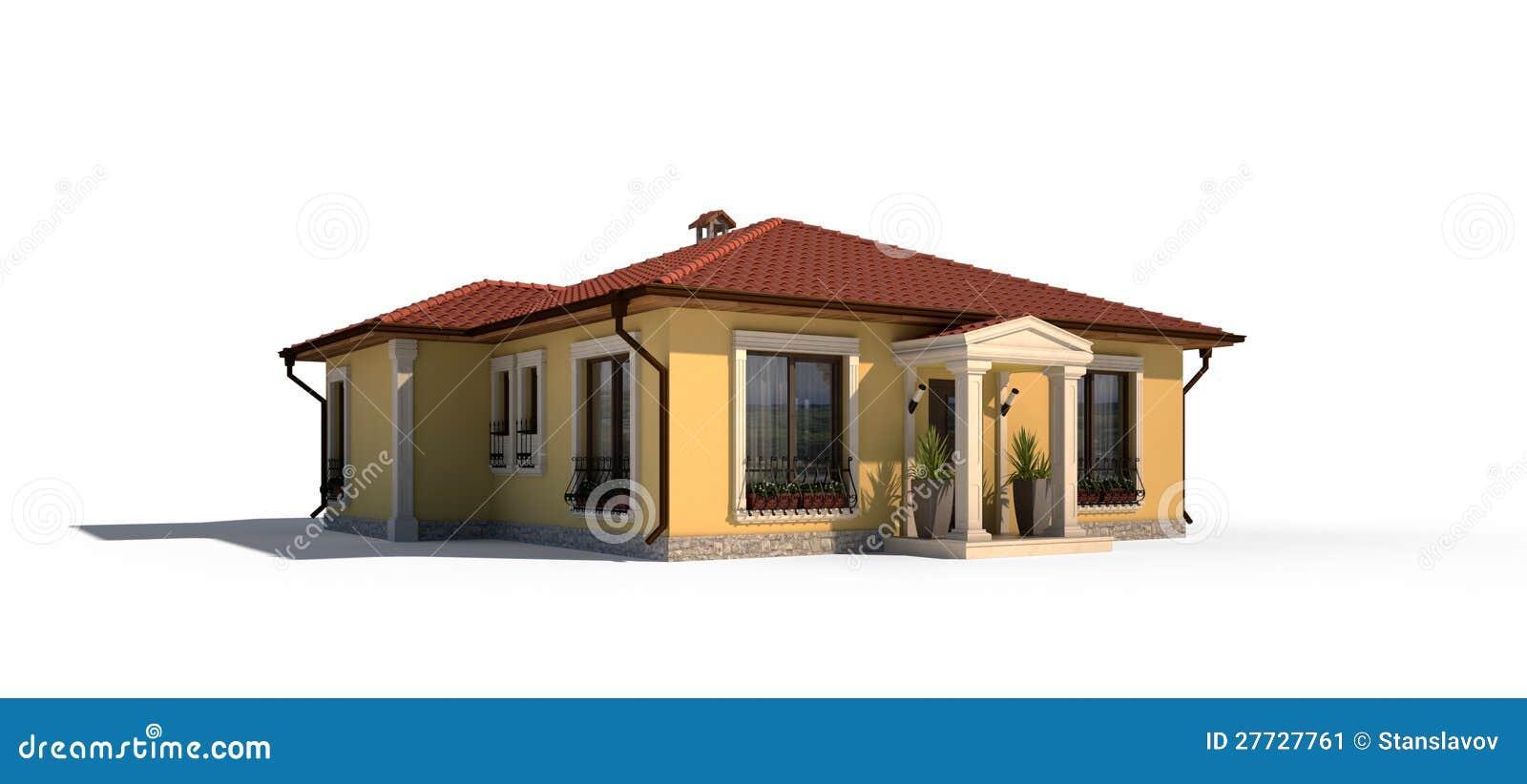 Dorfhausäußeres