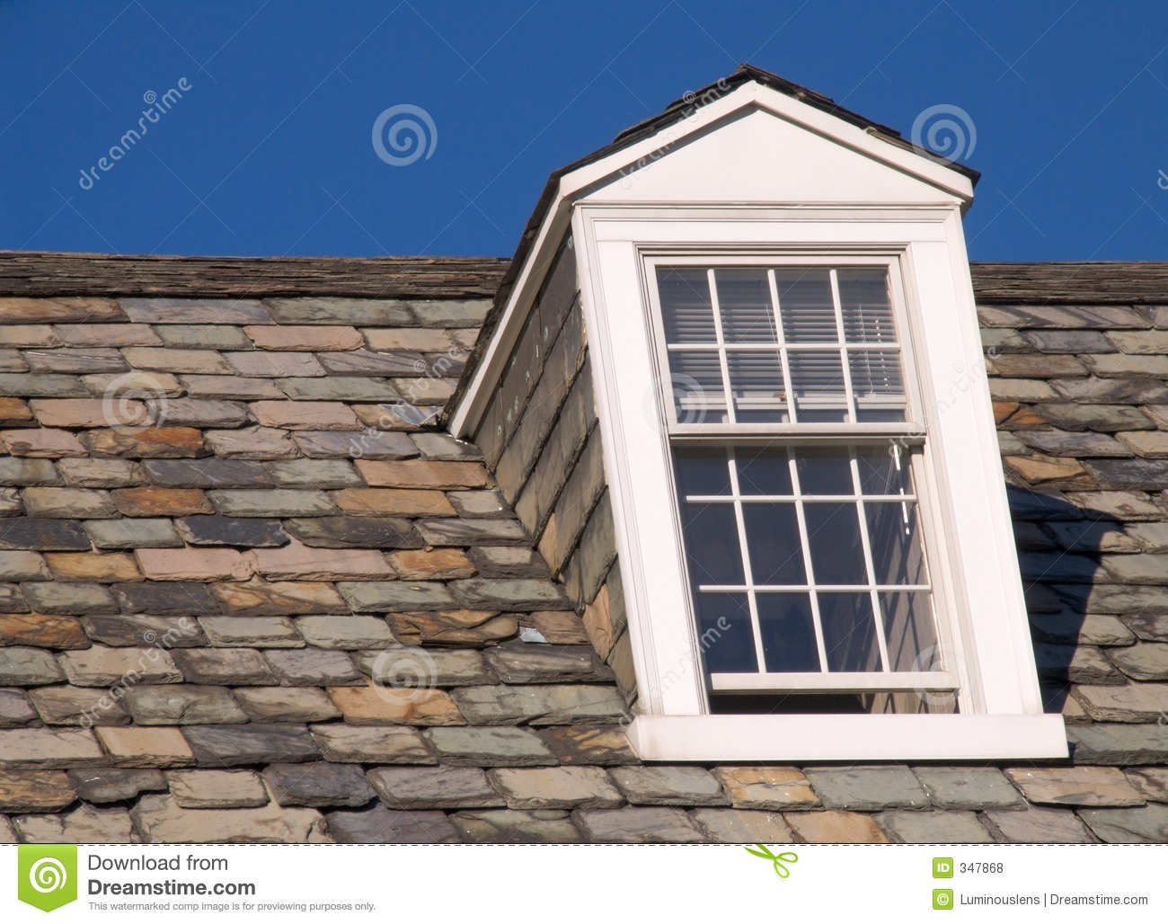 Dormer window right side royalty free stock photos for Right window