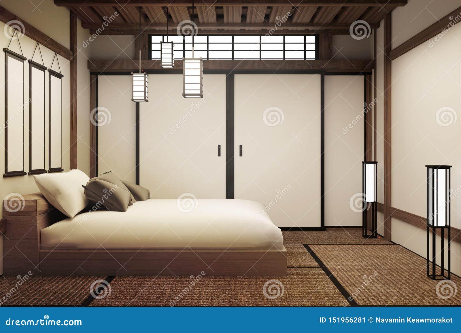 Dormitorio japon?s 3d rinden