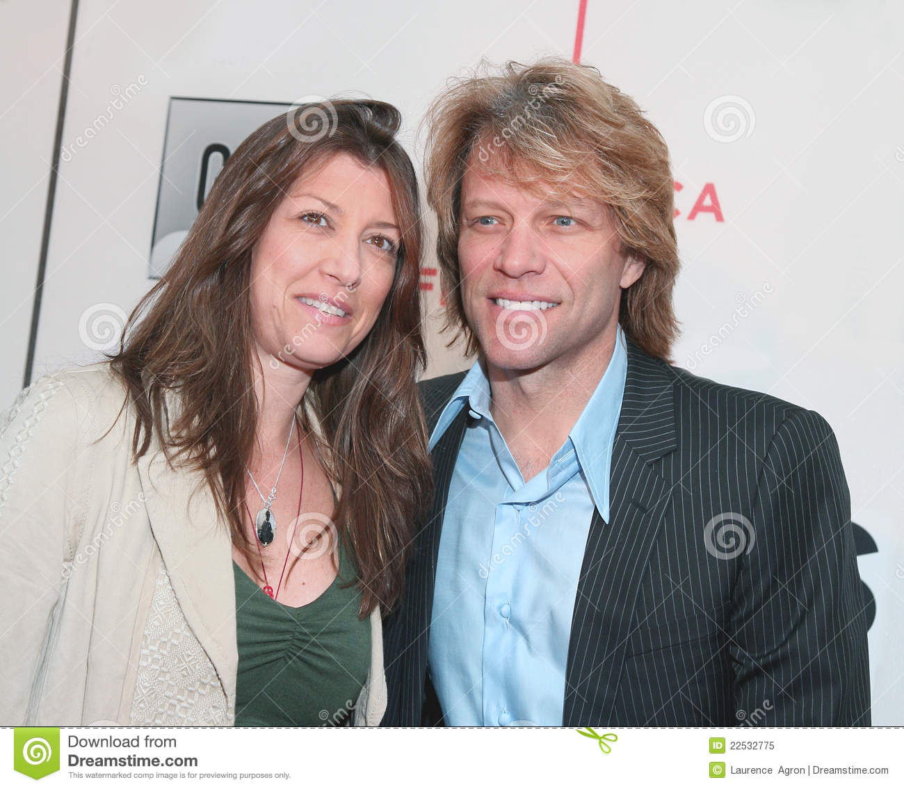 Dorothea Hurley And Jon Bon Jovi Editorial Image Image Of Singer