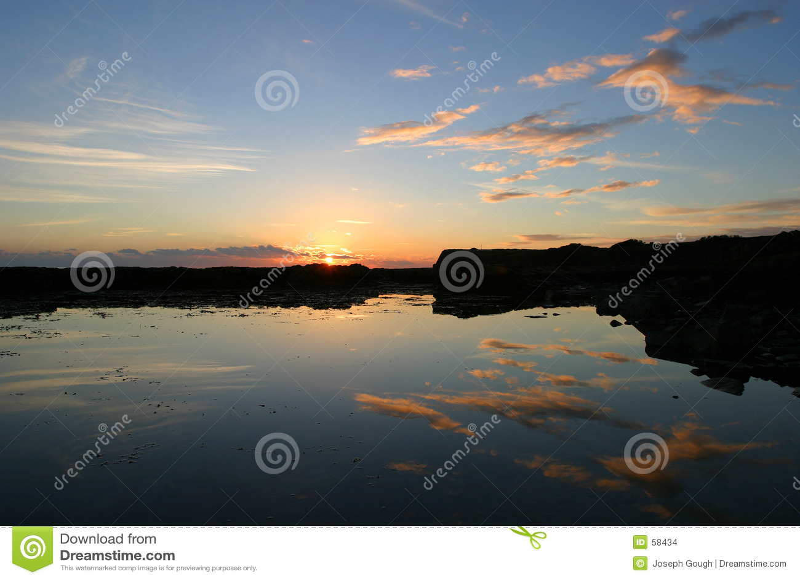 Dorset kimmeridge bay słońca