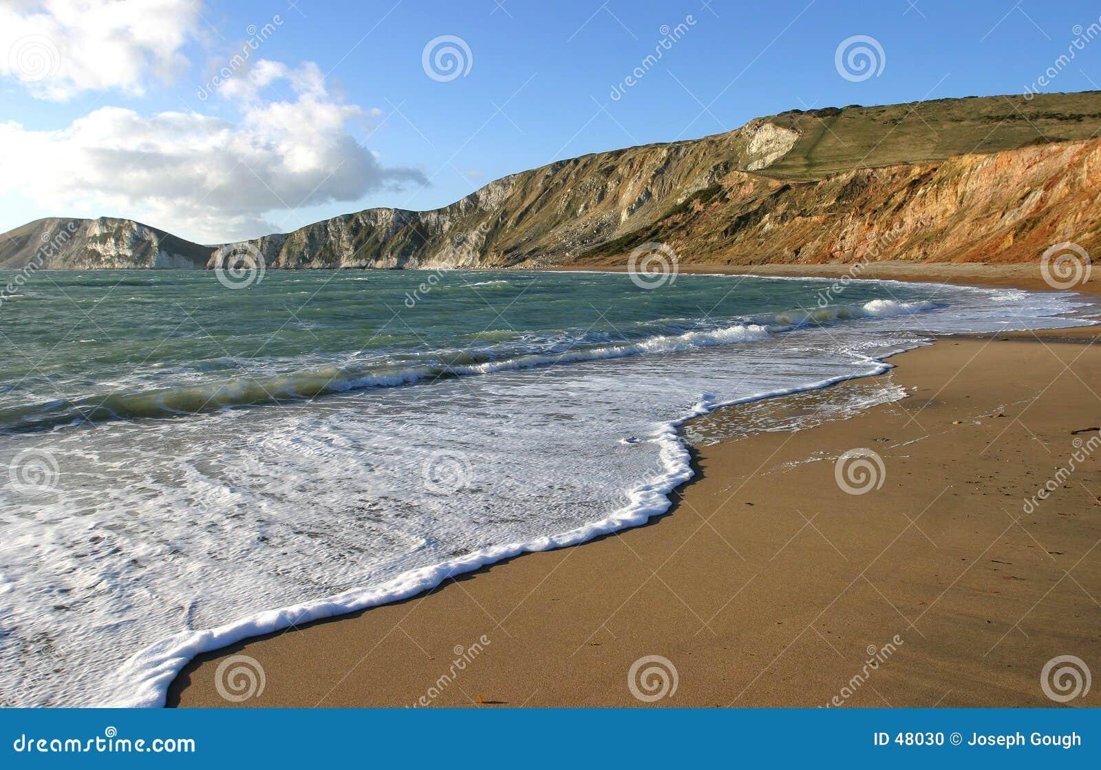 Dorset worlbarrow bay