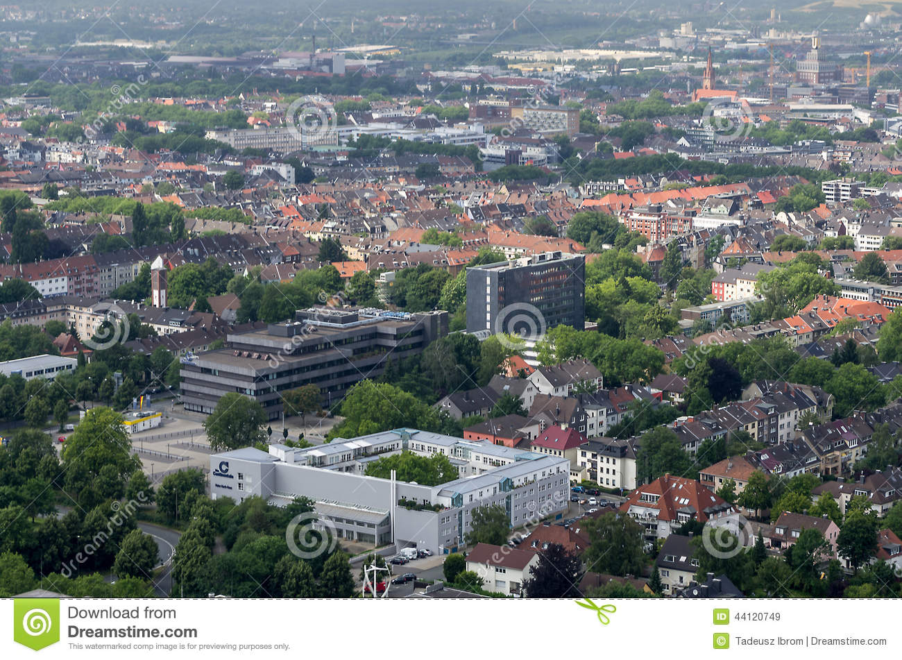 Dortmund Germany  City pictures : DORTMUND, GERMANY JULY 13: View from Florian Tower July 13, 2014, in ...
